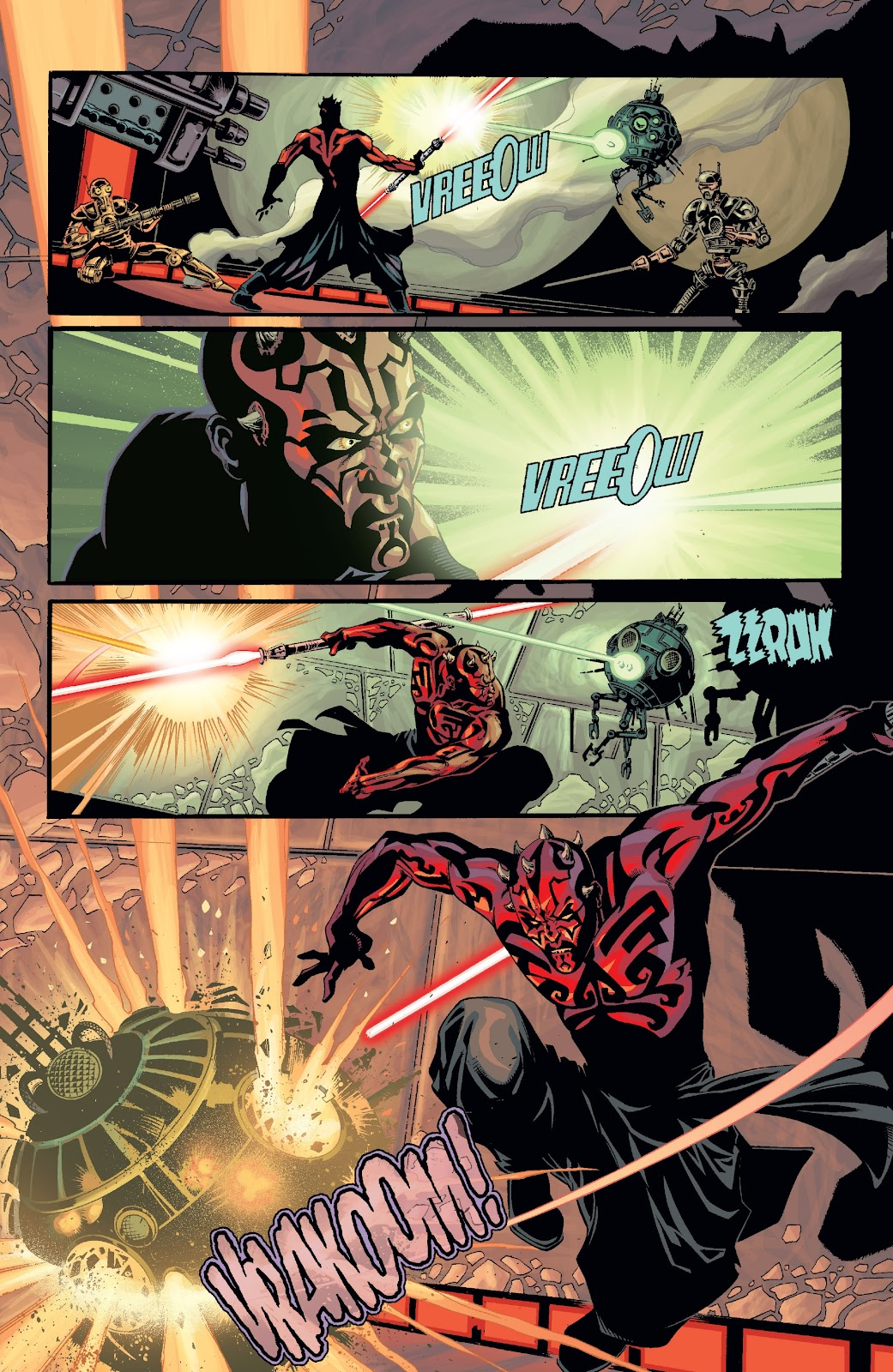 Read online Star Wars Legends: Rise of the Sith - Epic Collection comic -  Issue # TPB 2 (Part 2) - 44