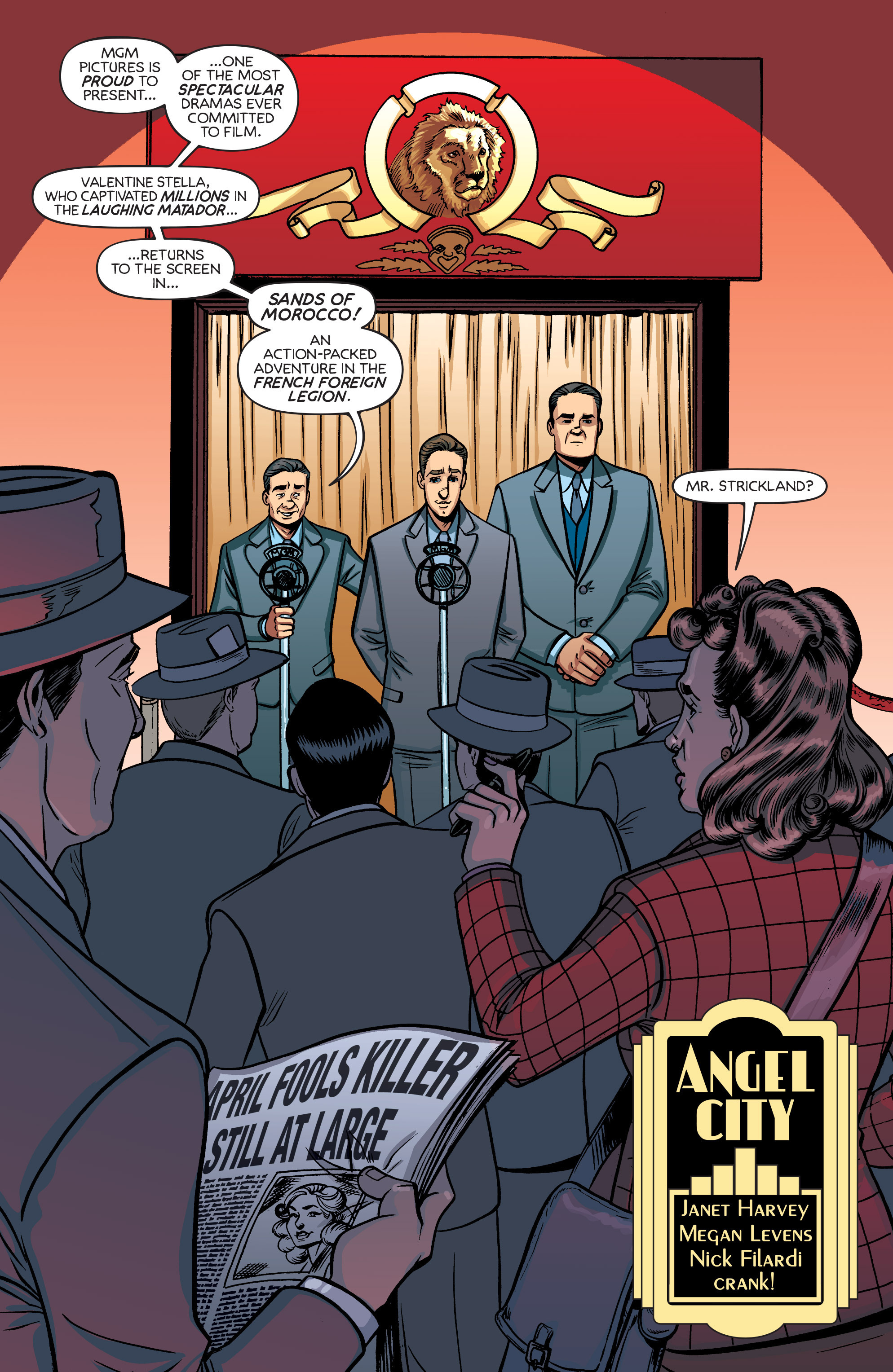 Read online Angel City comic -  Issue #3 - 3