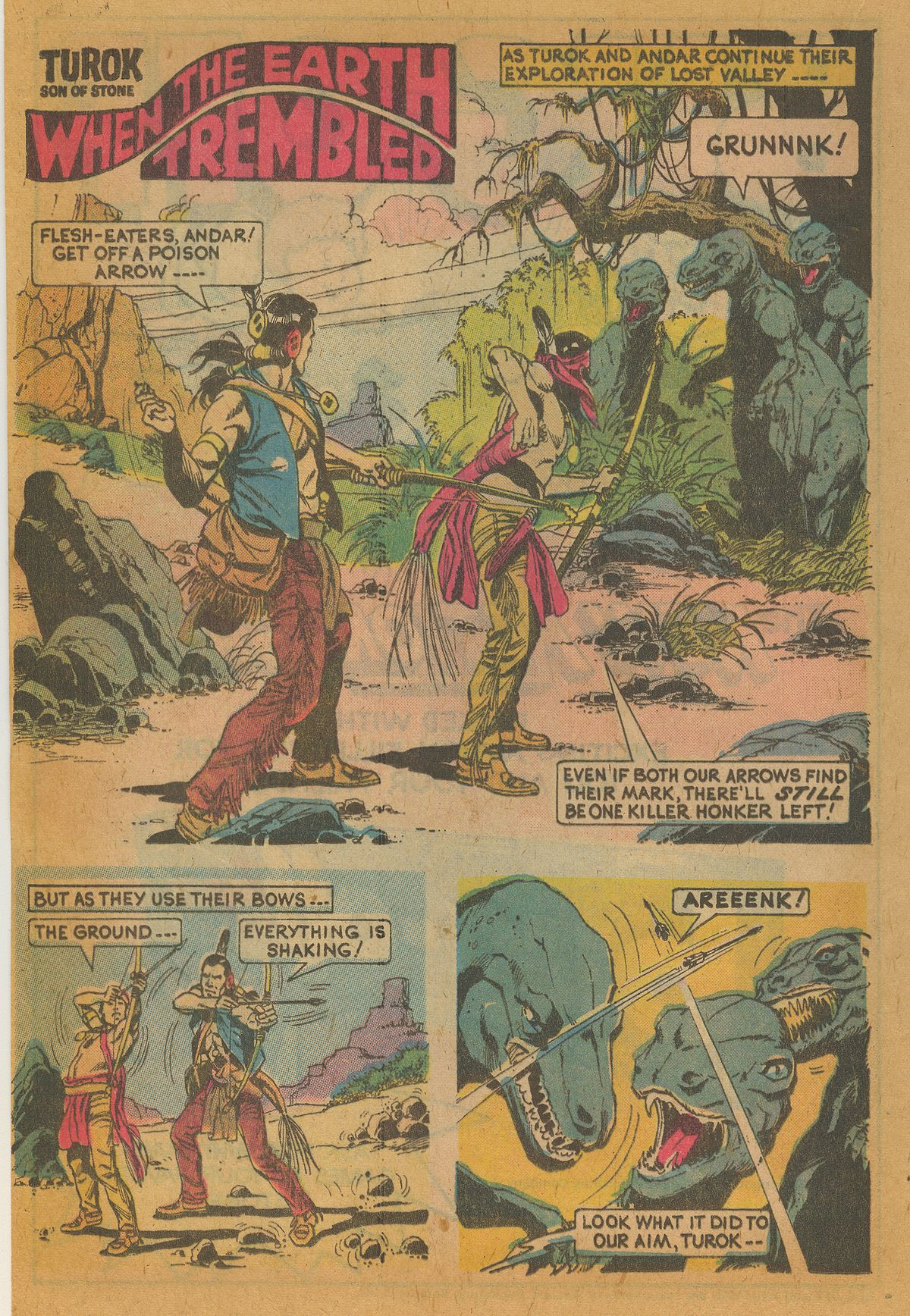 Read online Turok, Son of Stone comic -  Issue #112 - 20