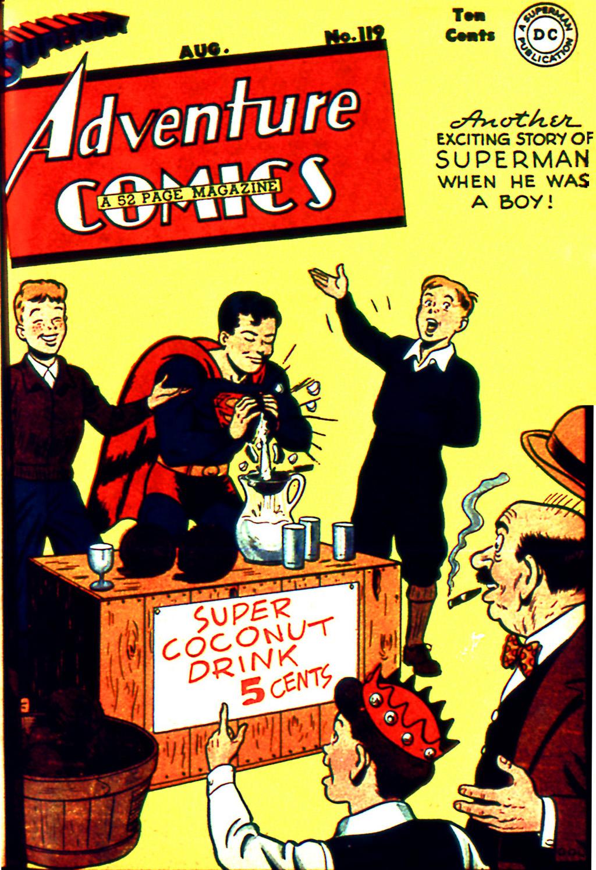Adventure Comics (1938) 119 Page 1