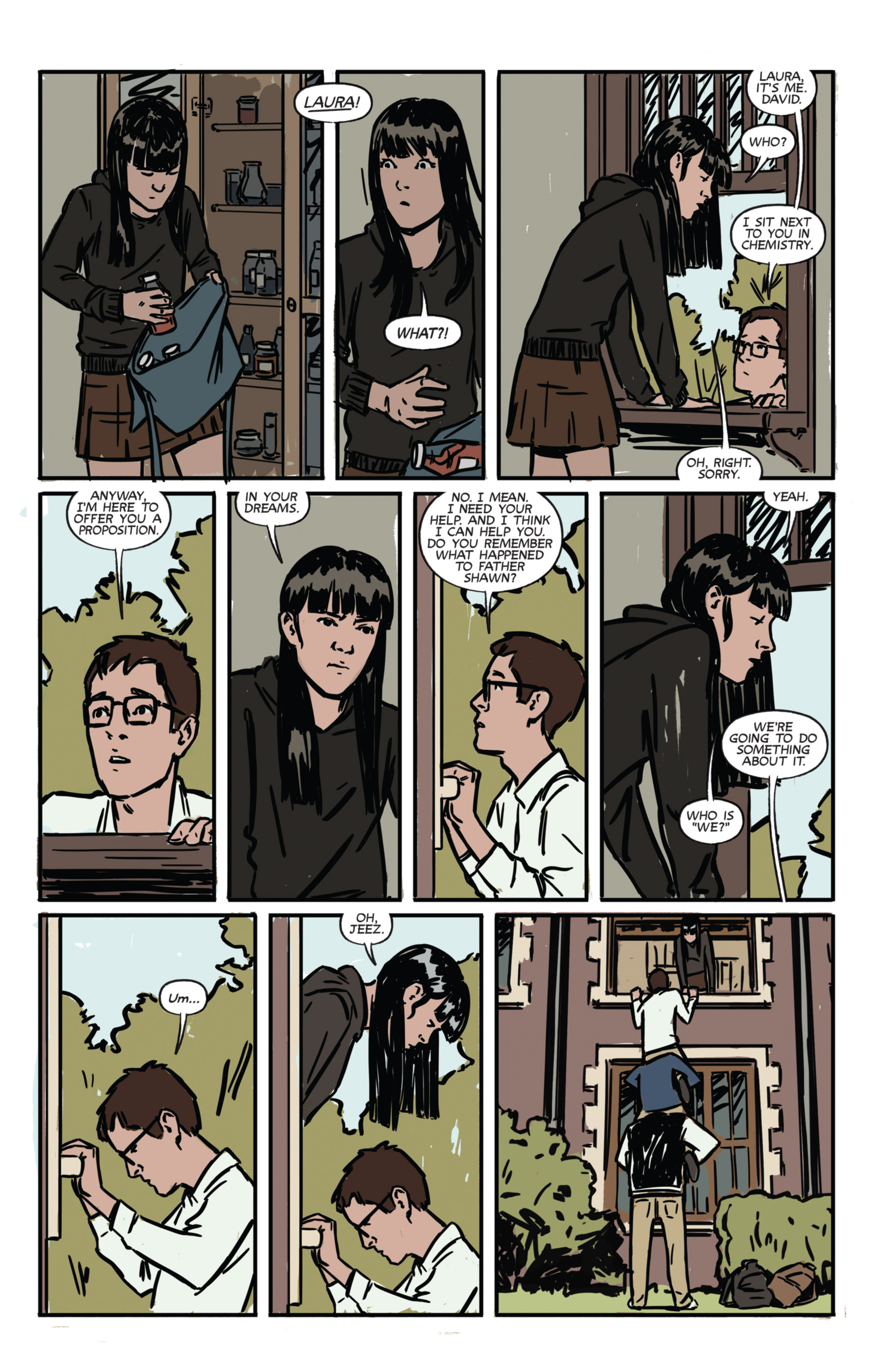 Read online Night Owl Society comic -  Issue #1 - 21