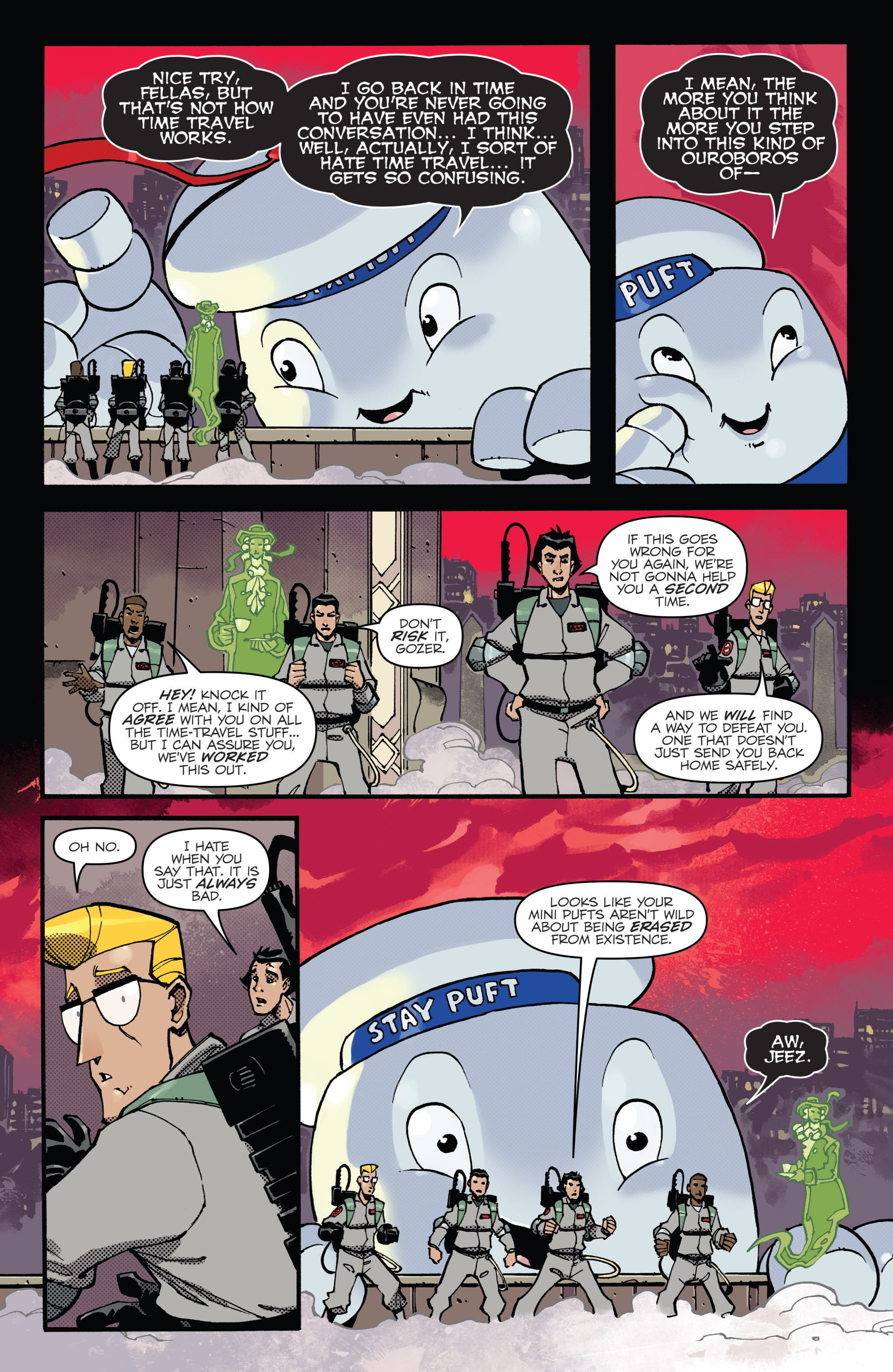 Read online Ghostbusters: Deviations comic -  Issue #1 - 20