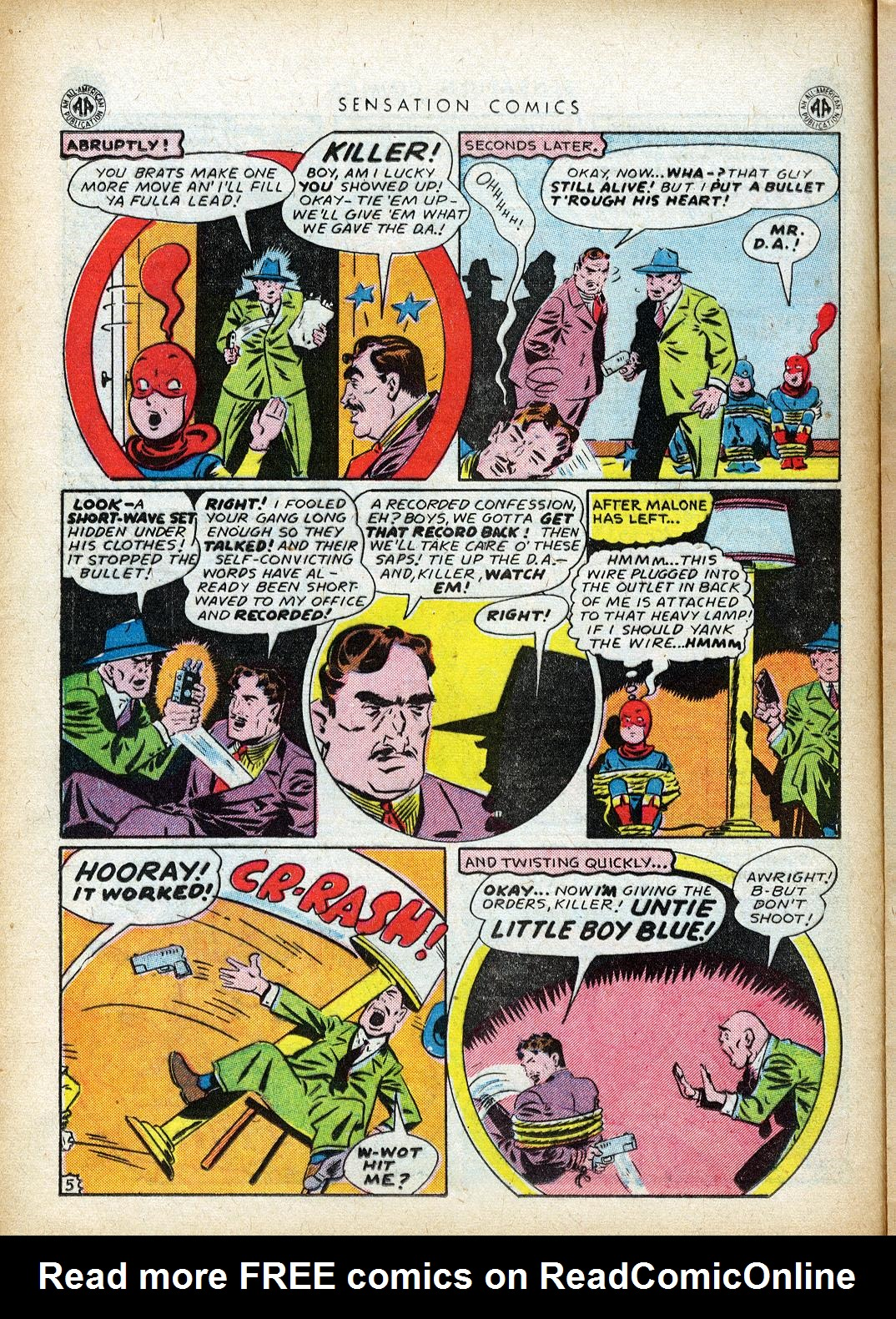 Read online Sensation (Mystery) Comics comic -  Issue #40 - 24