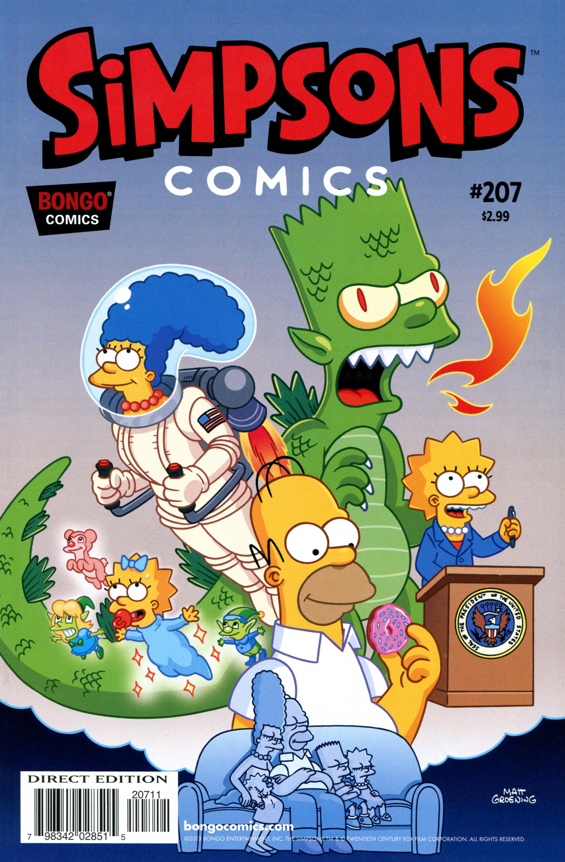 Simpsons Comics 207 Page 1