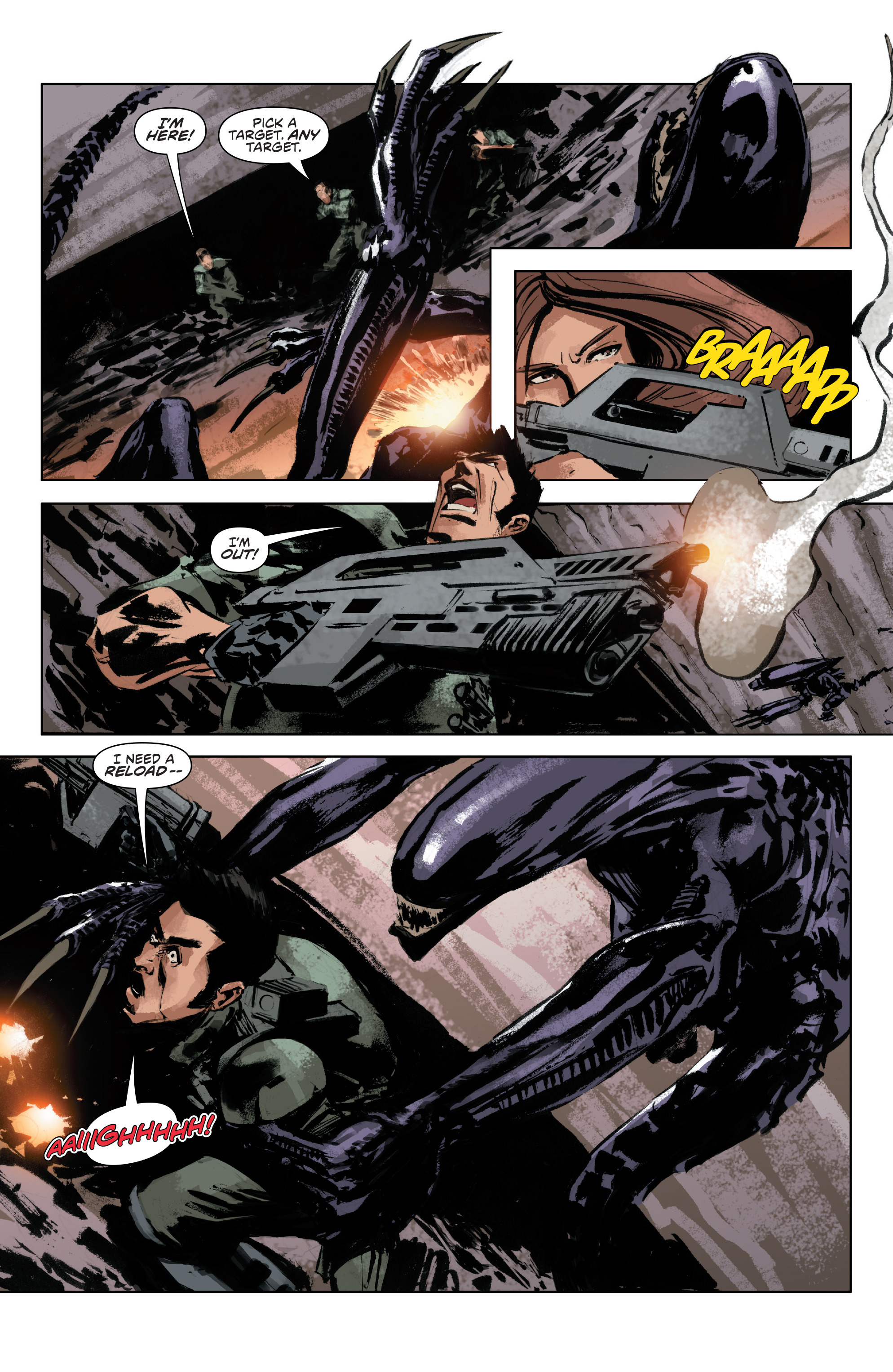 Read online Alien Vs. Predator: Life and Death comic -  Issue #3 - 17