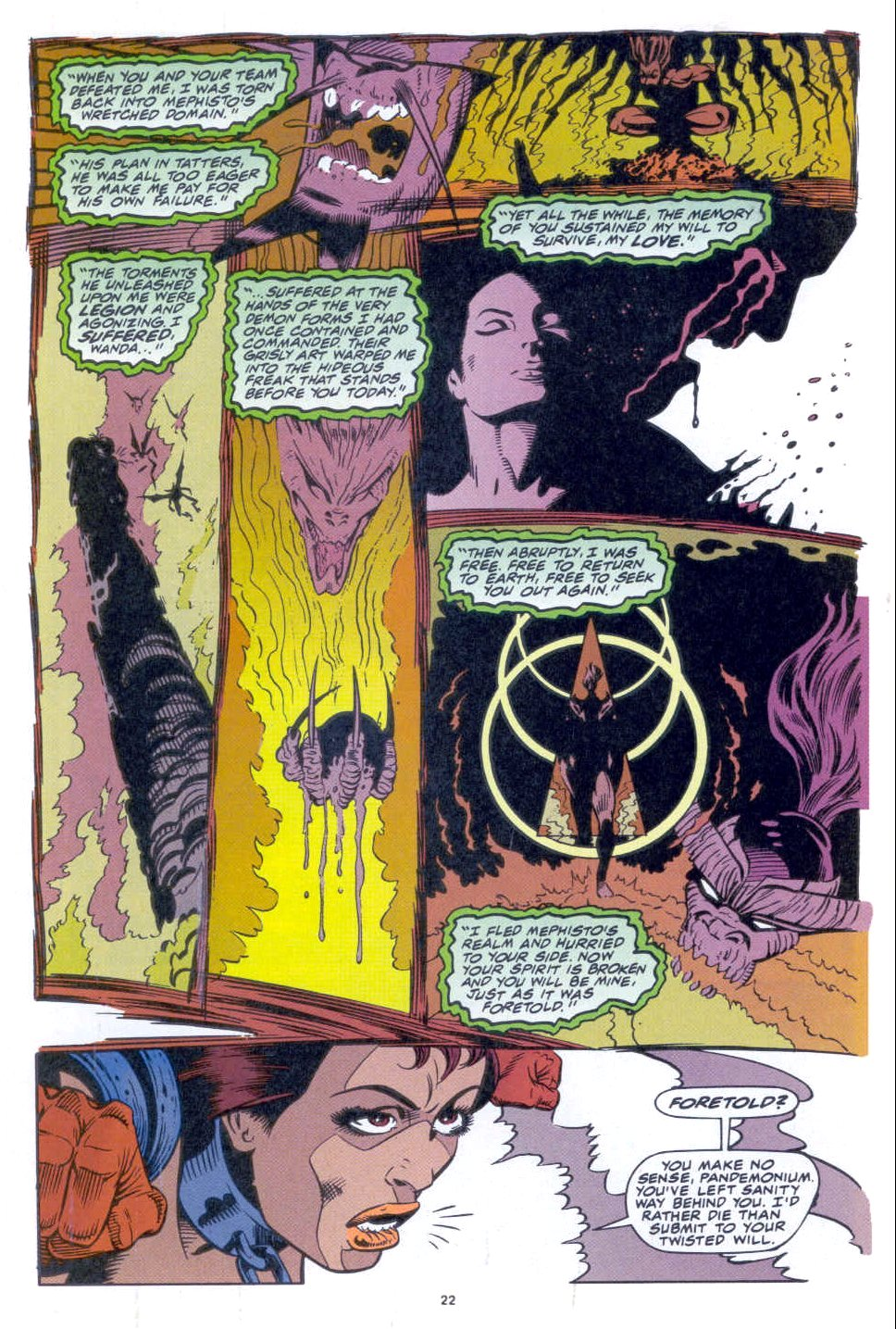 Scarlet Witch (1994) Issue #3 #3 - English 19