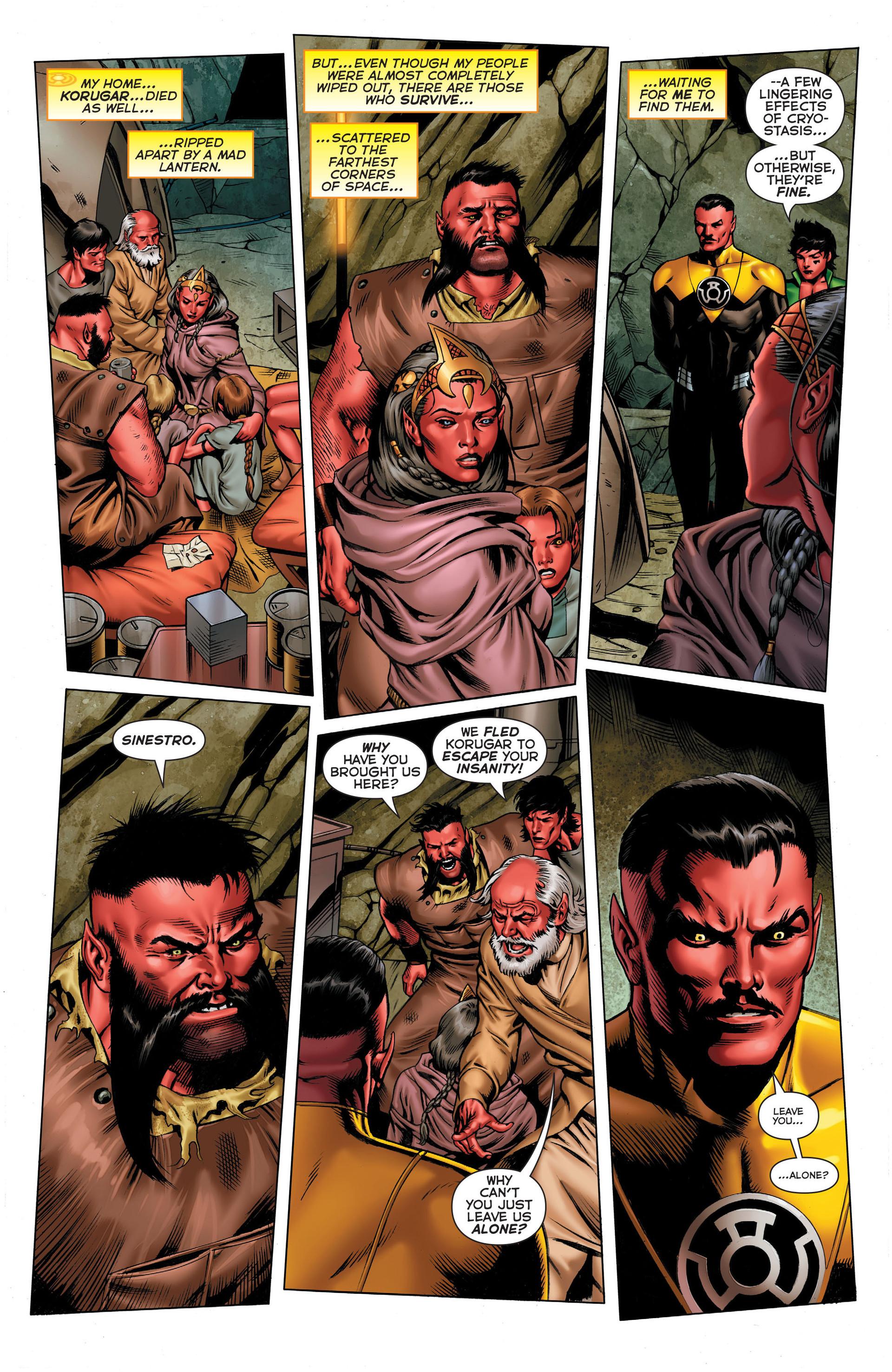 Read online Sinestro comic -  Issue #3 - 6
