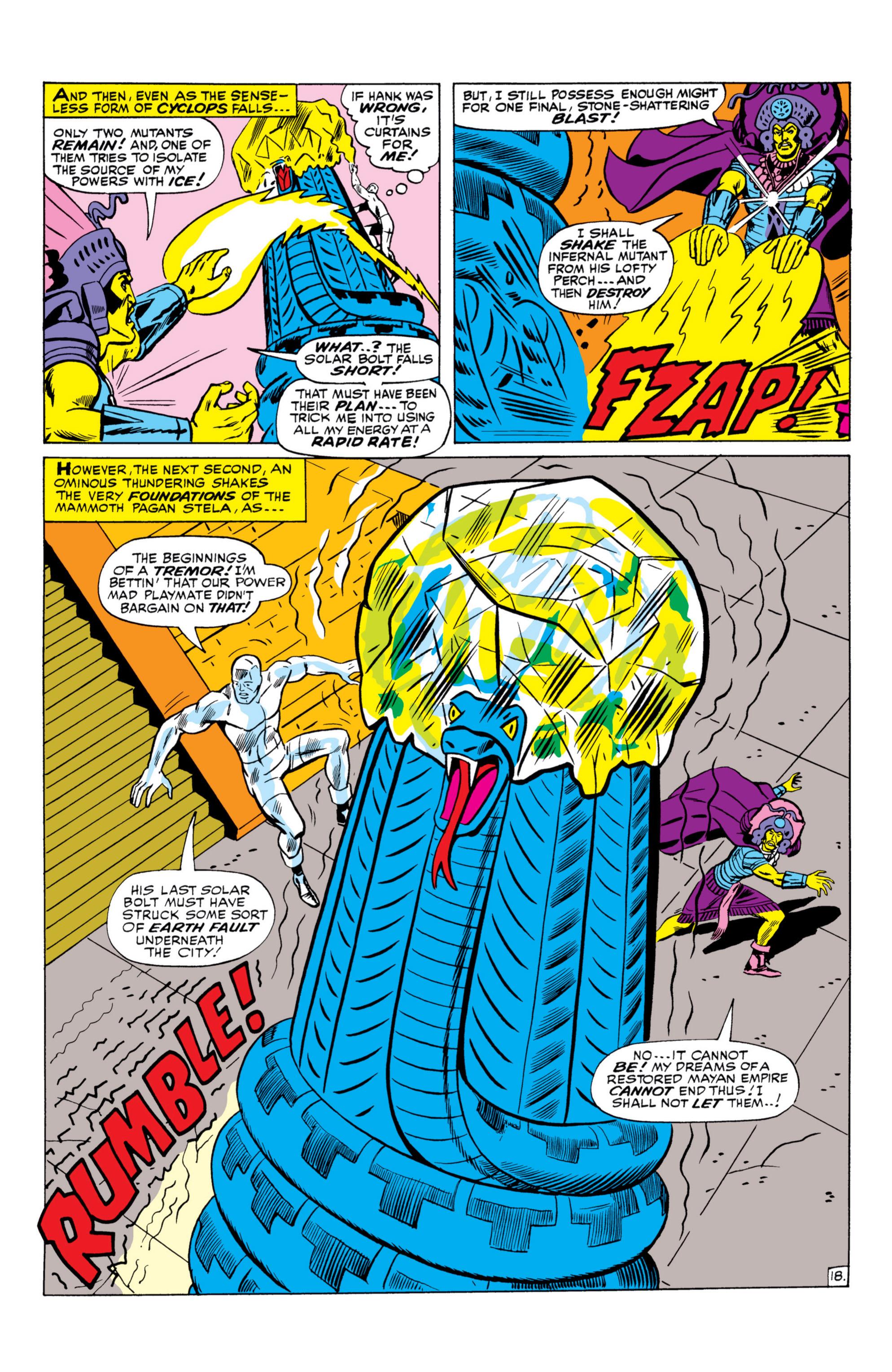 Read online Uncanny X-Men (1963) comic -  Issue #26 - 19