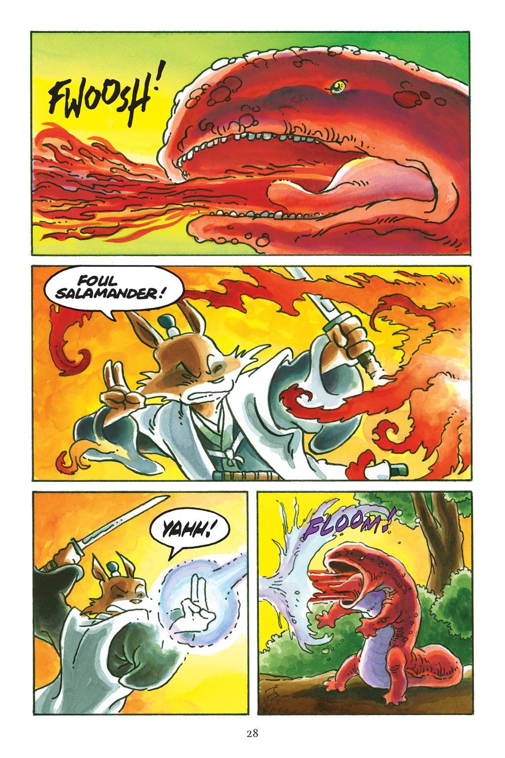 Read online Usagi Yojimbo: Yokai comic -  Issue # Full - 28