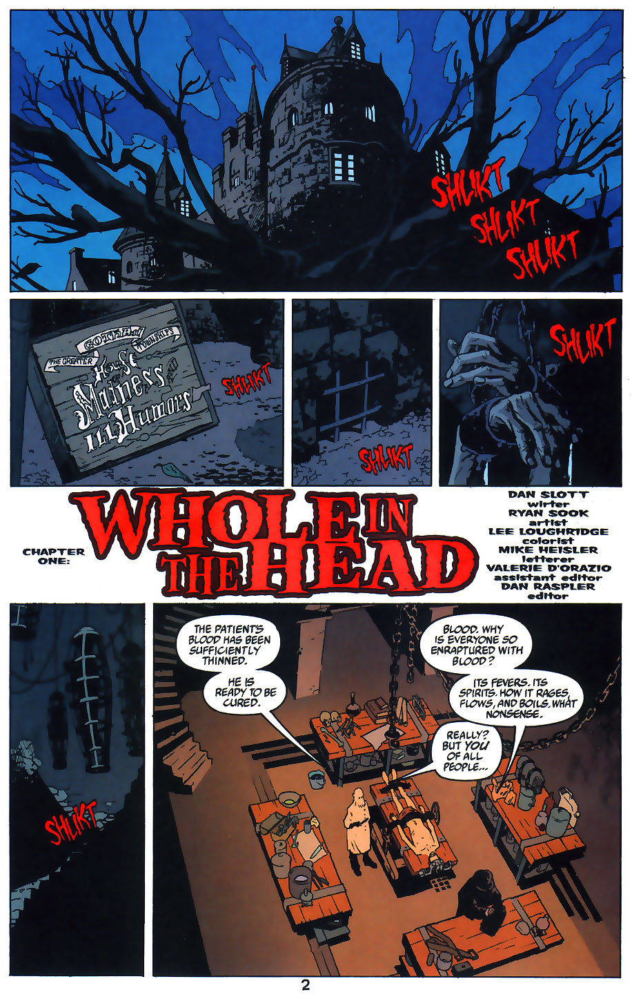 Read online Arkham Asylum: Living Hell comic -  Issue #1 - 4