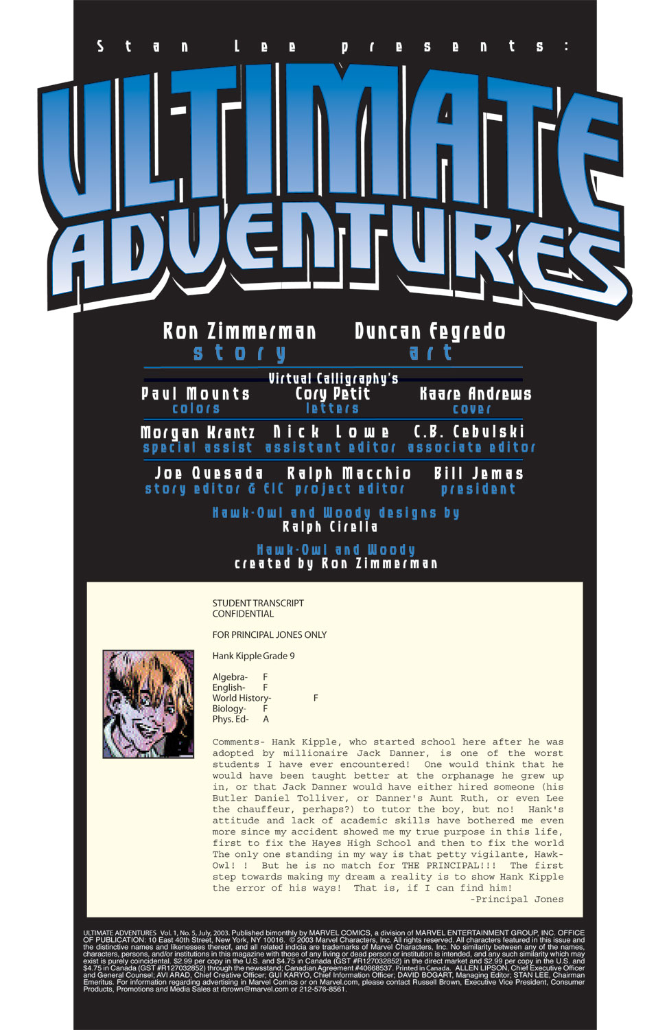 Read online Ultimate Adventures comic -  Issue #5 - 3