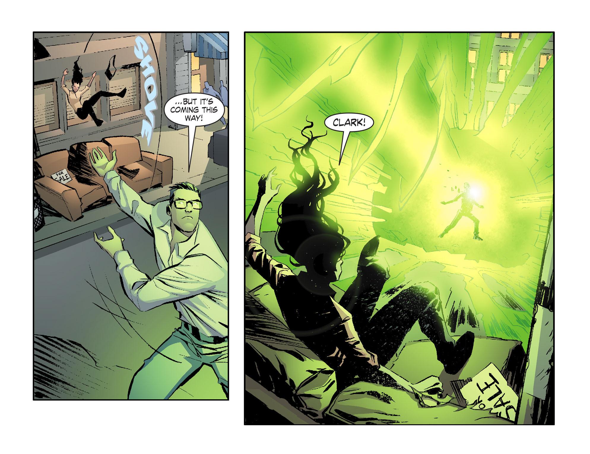Read online Smallville: Lantern [I] comic -  Issue #1 - 18