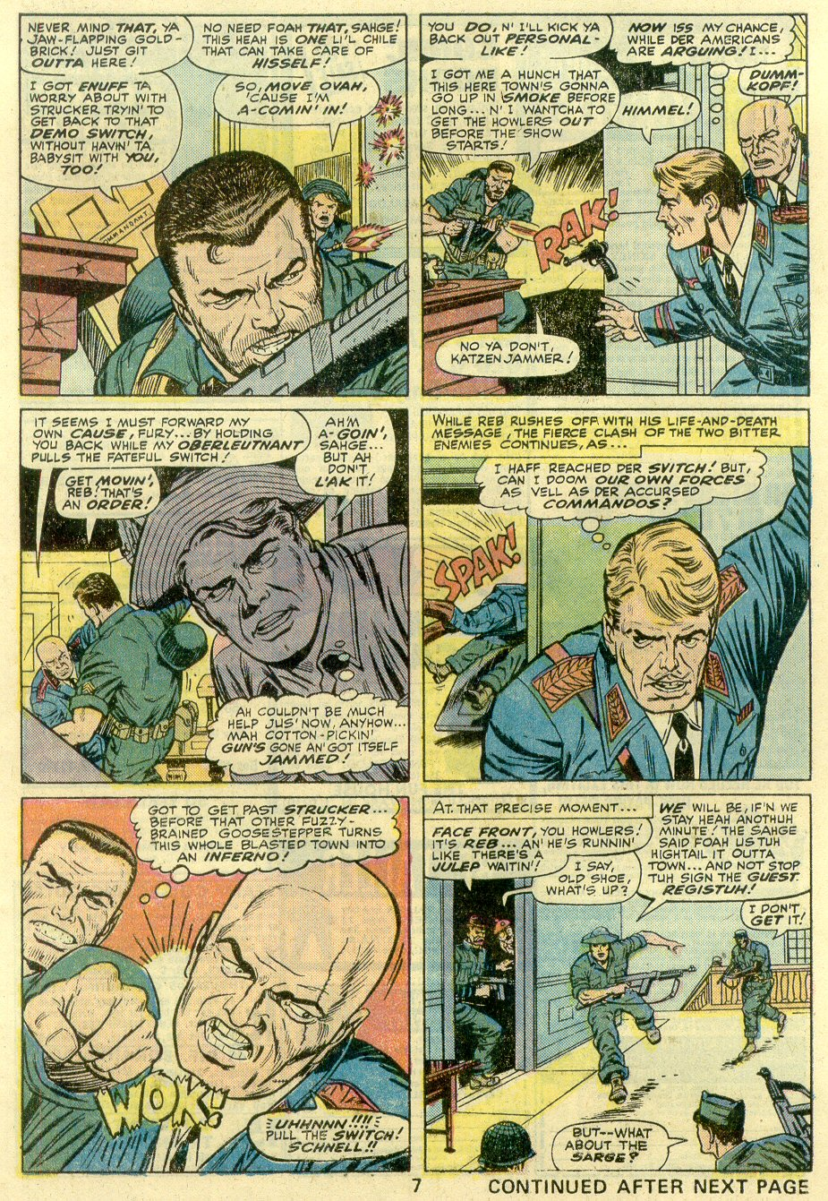 Read online Sgt. Fury comic -  Issue #131 - 9