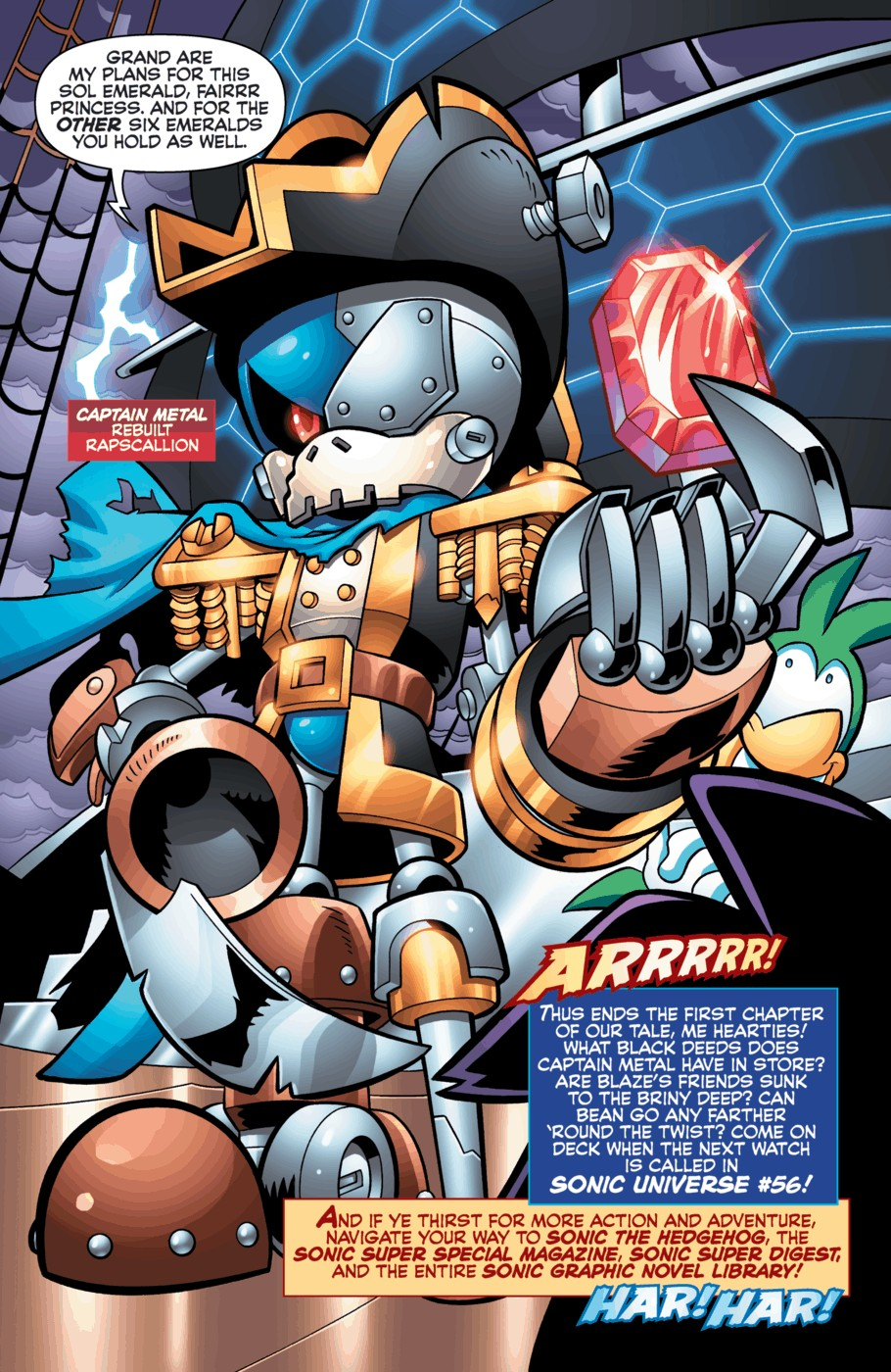 Read online Sonic Universe comic -  Issue #55 - 22