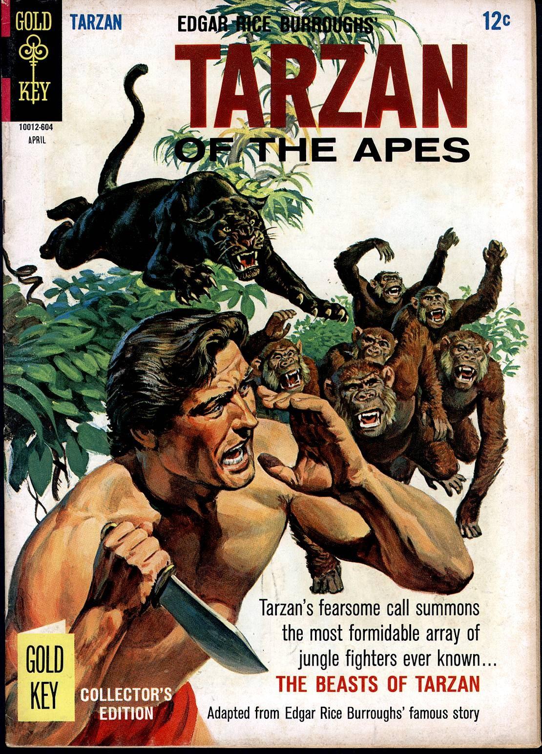 Tarzan (1962) issue 157 - Page 1