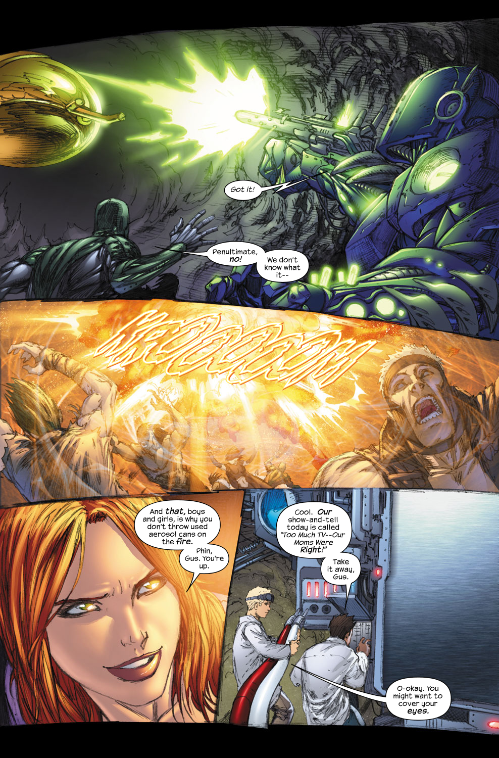 Read online Ultimate Fantastic Four (2004) comic -  Issue #57 - 8
