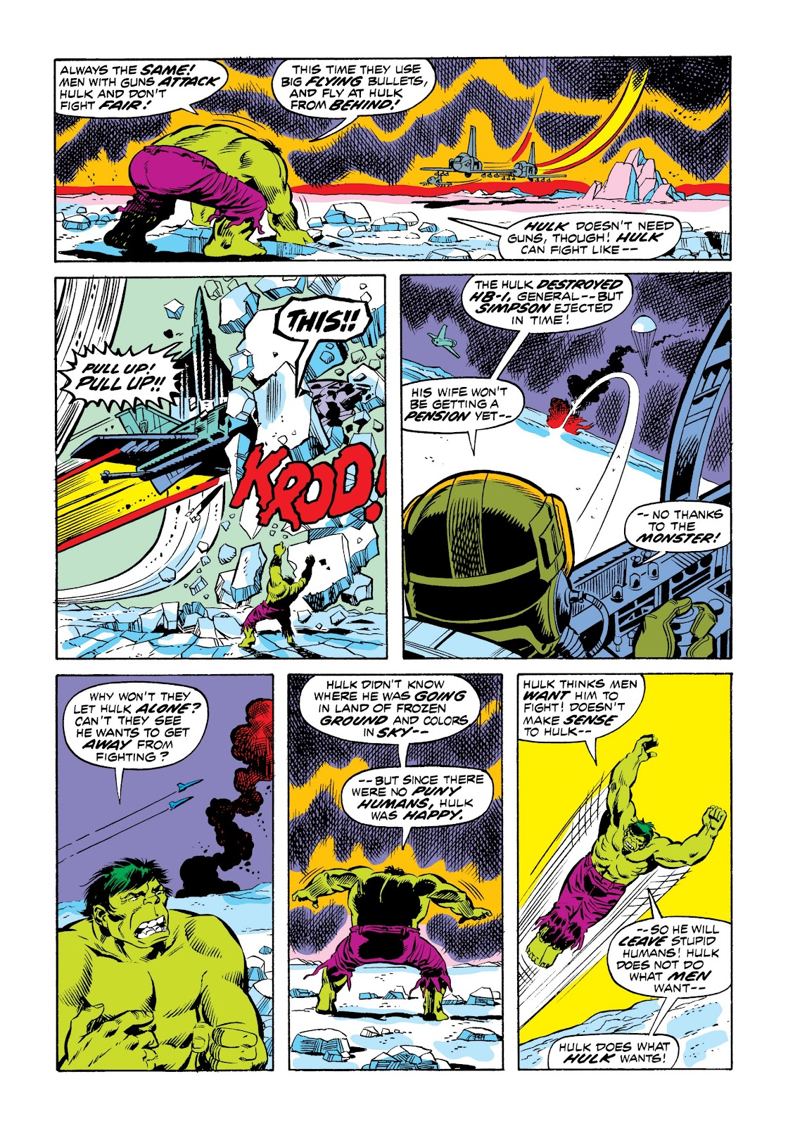 Read online Marvel Masterworks: The Incredible Hulk comic -  Issue # TPB 9 (Part 2) - 38