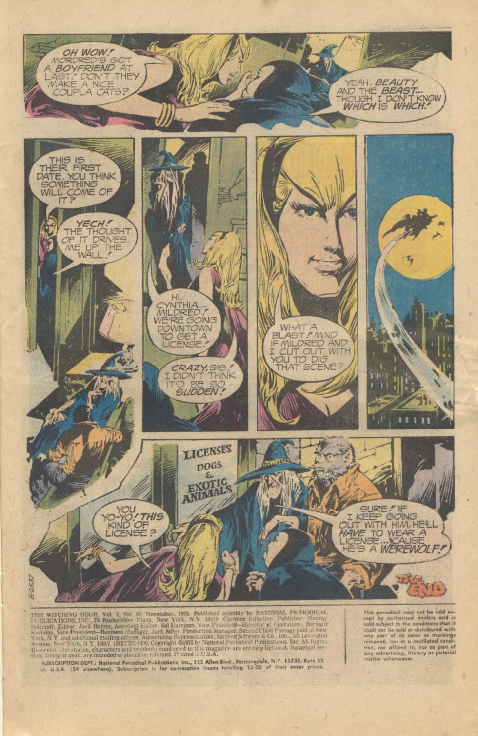 The Witching Hour (1969) issue 60 - Page 3