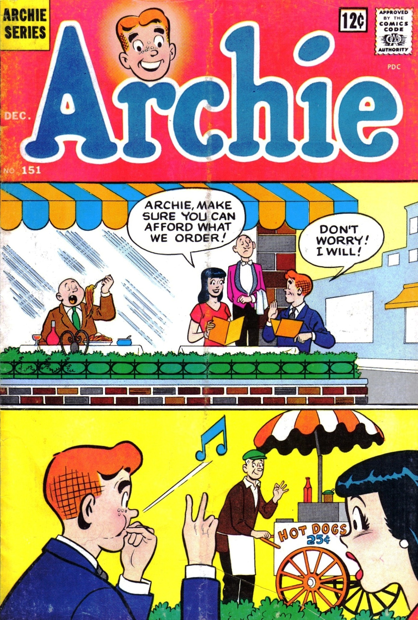 Read online Archie (1960) comic -  Issue #151 - 1