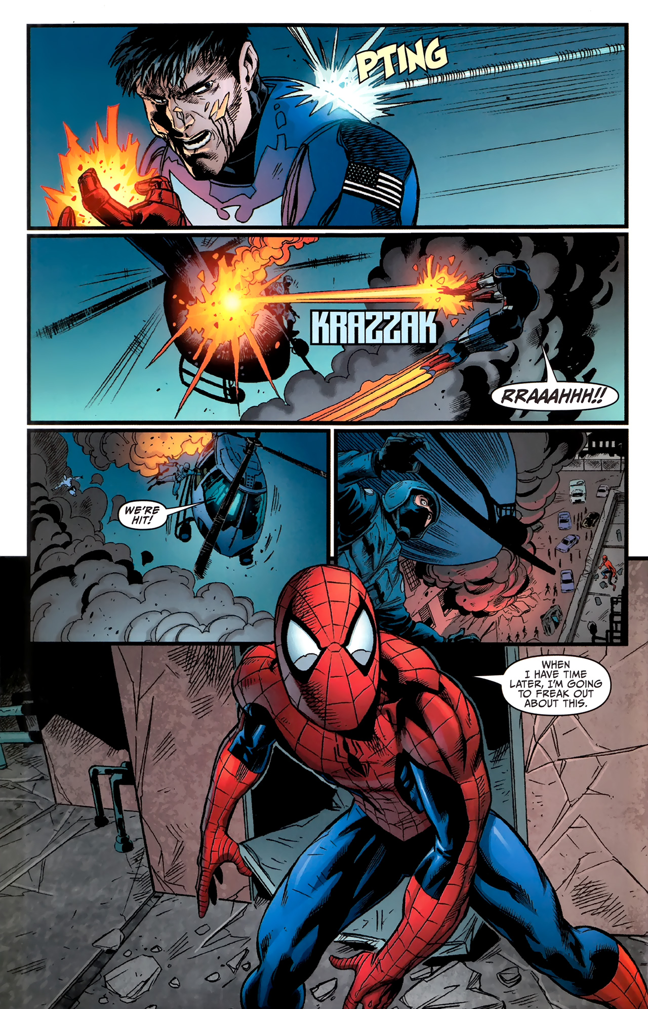 Read online Amazing Spider-Man Presents: American Son comic -  Issue #4 - 8