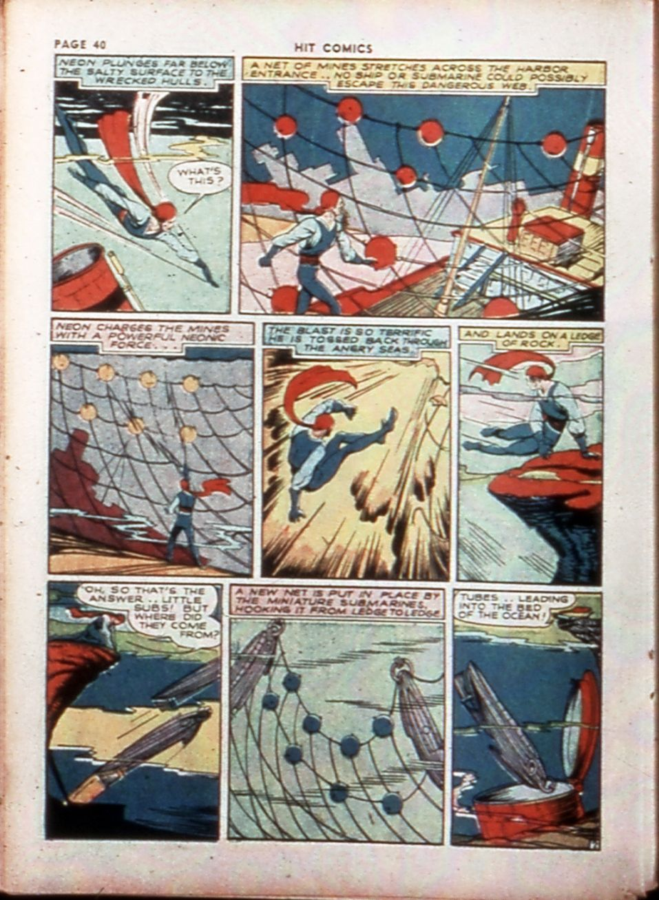 Read online Hit Comics comic -  Issue #14 - 42