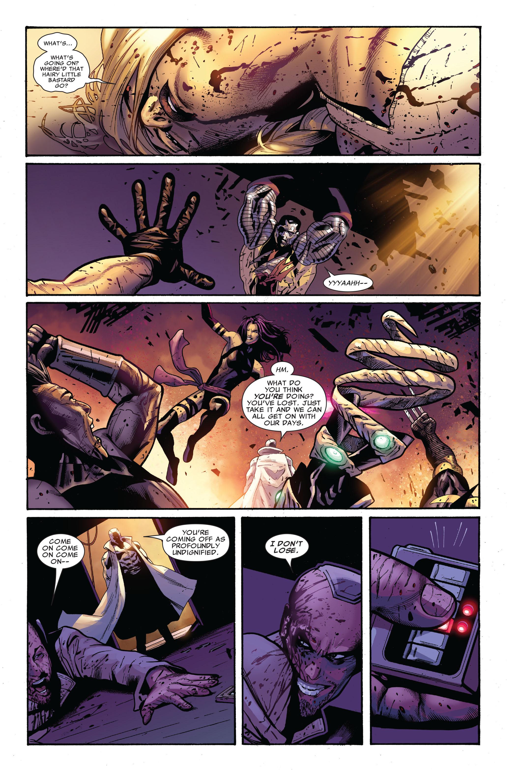 Read online Uncanny X-Men (1963) comic -  Issue #521 - 17