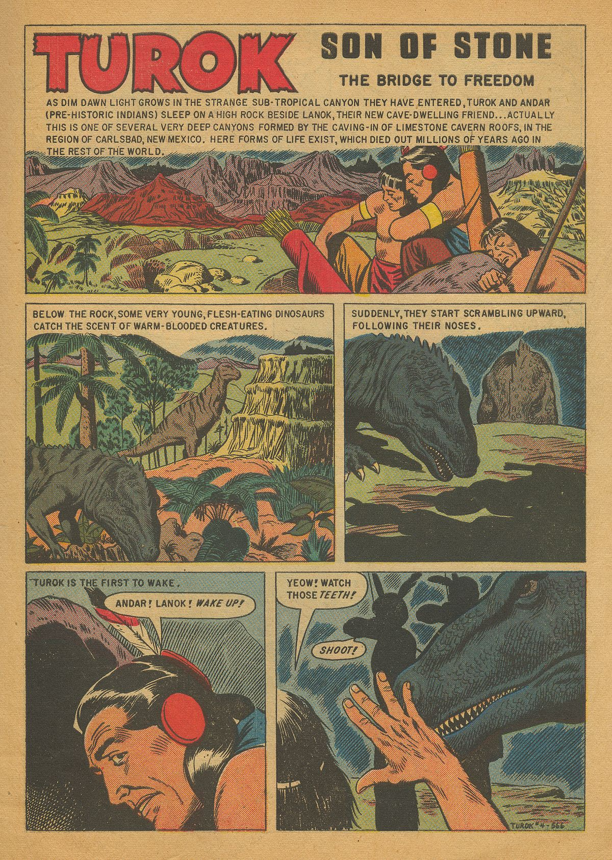 Read online Turok, Son of Stone comic -  Issue #4 - 3