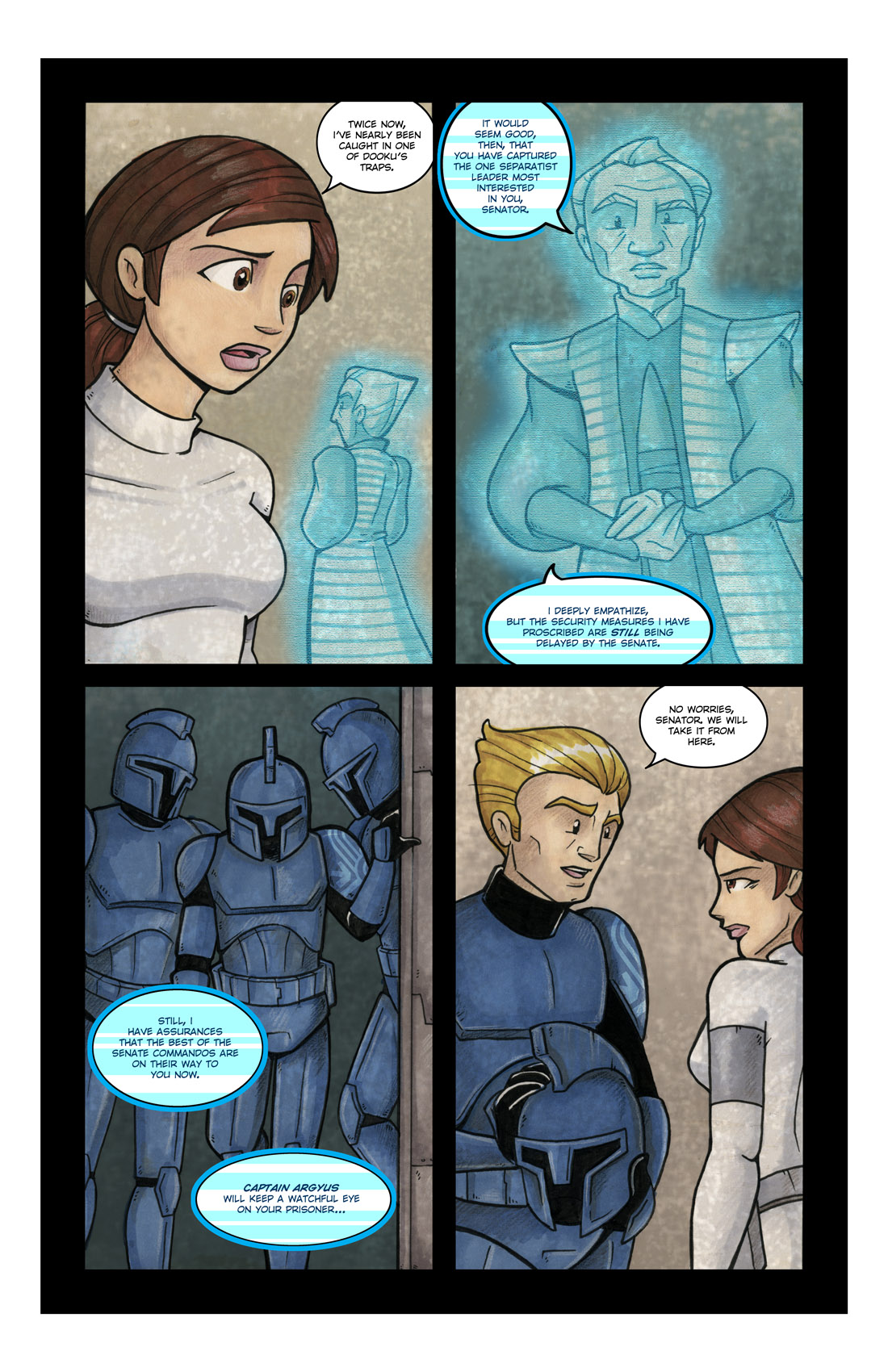 Read online Star Wars: Tales From The Clone Wars comic -  Issue # TPB - 66