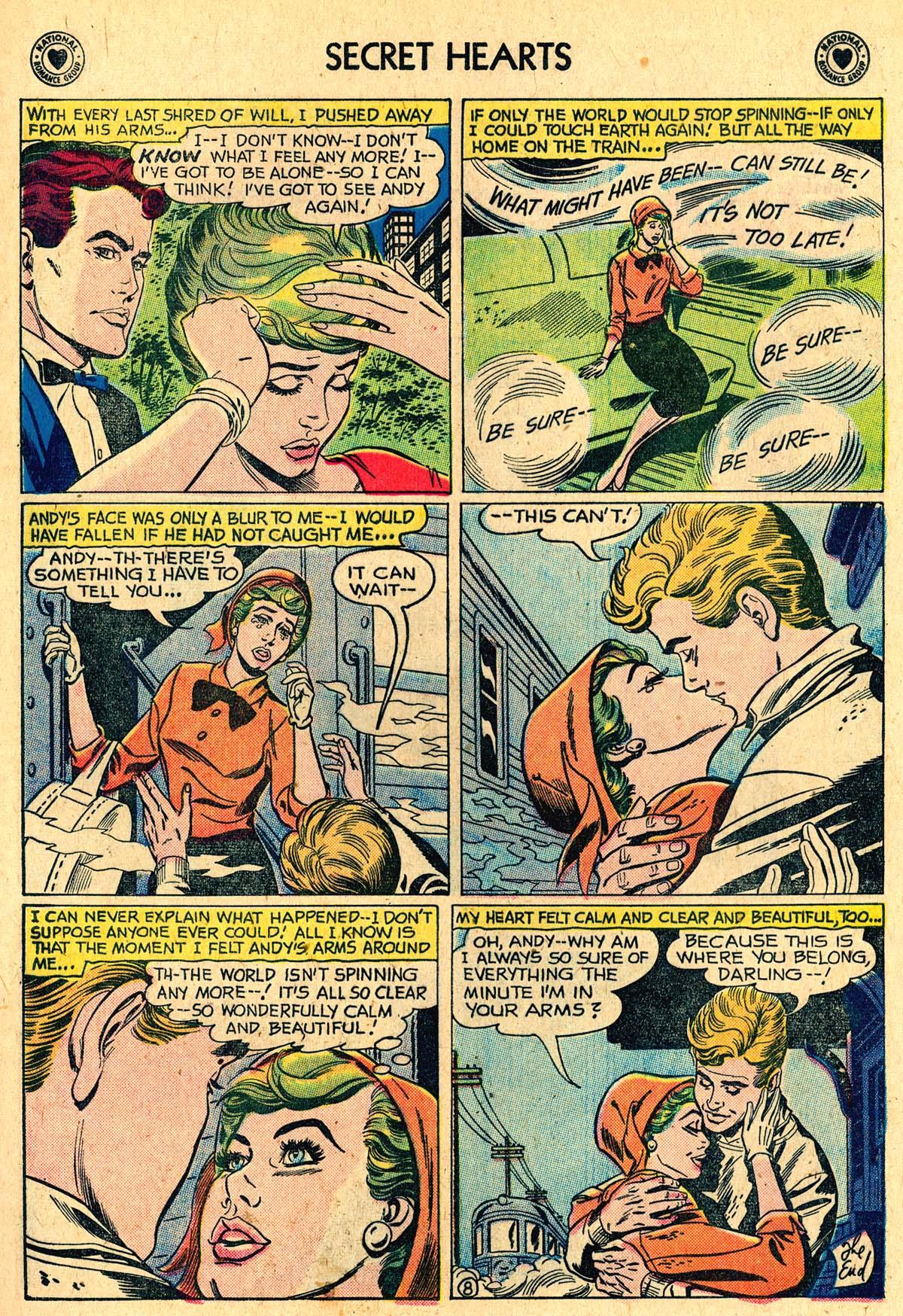 Read online Secret Hearts comic -  Issue #60 - 17