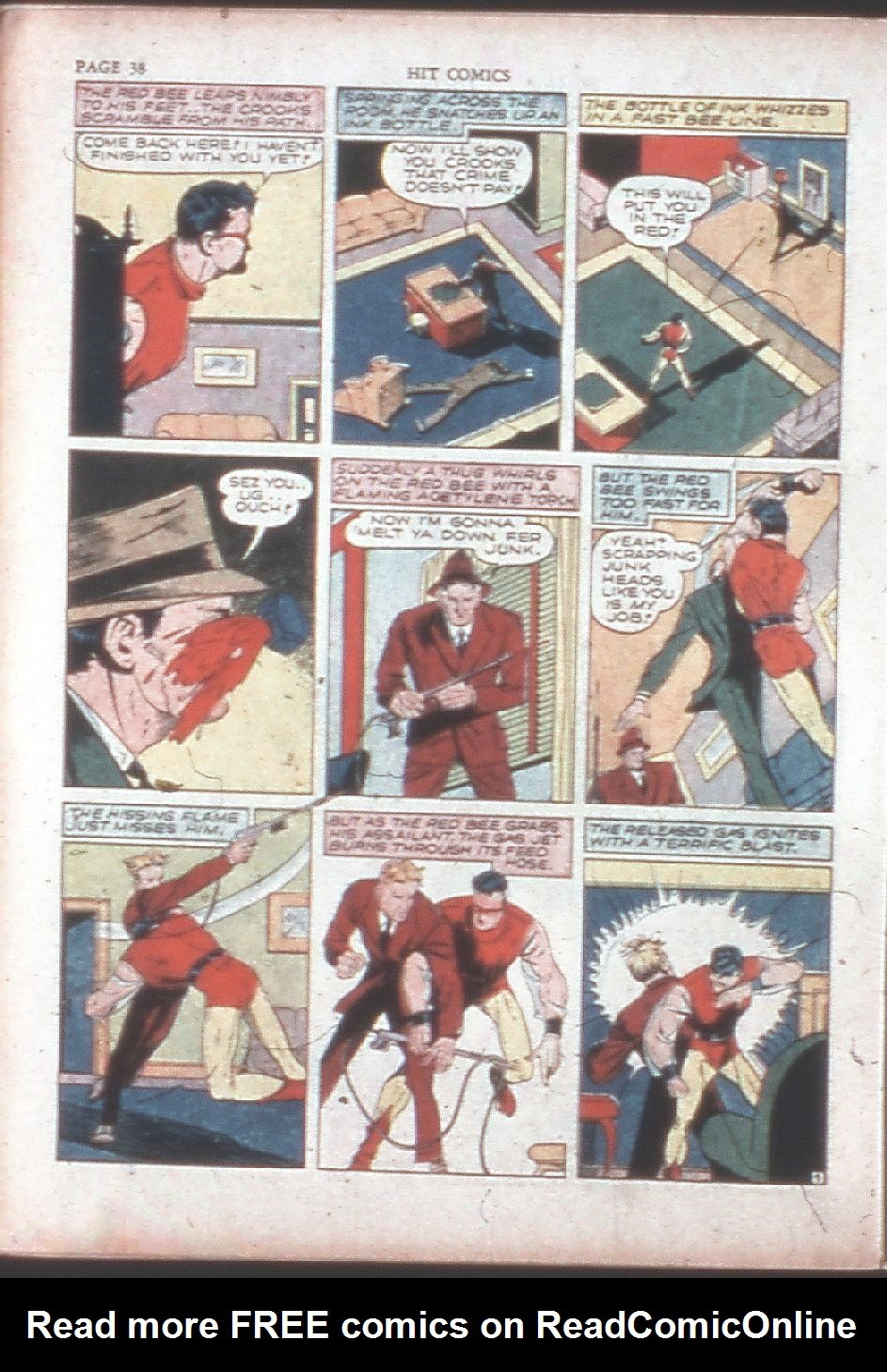 Read online Hit Comics comic -  Issue #15 - 40