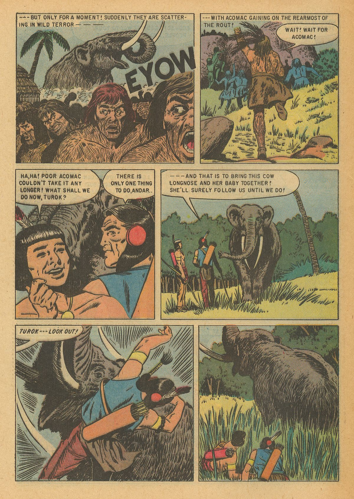 Read online Turok, Son of Stone comic -  Issue #6 - 28