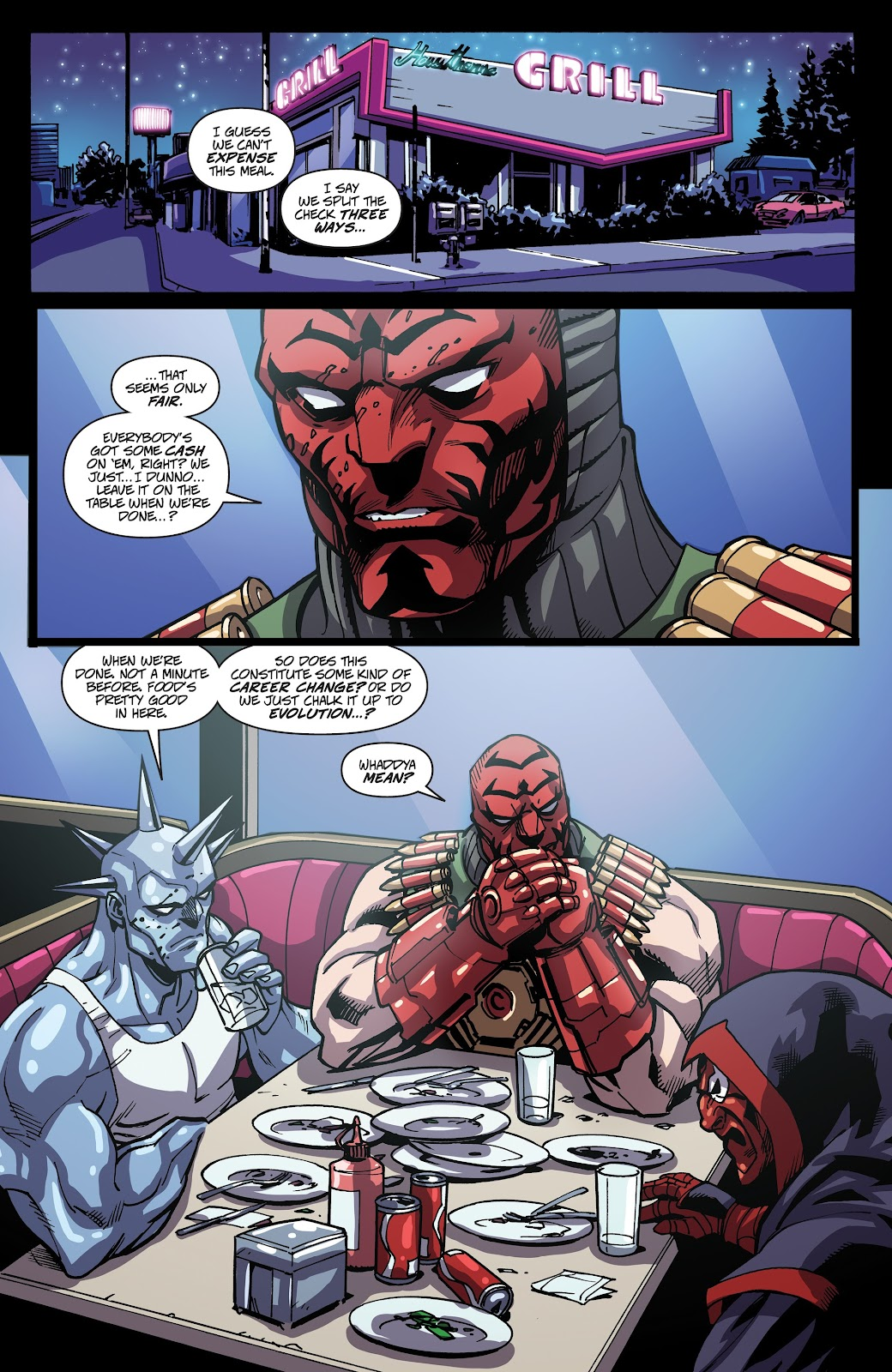 Read online Accell comic -  Issue #17 - 17