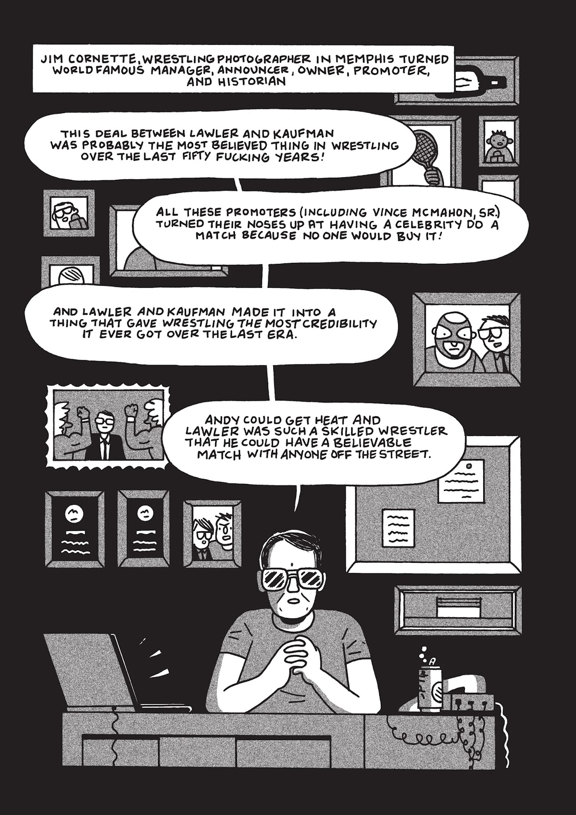 Read online Is This Guy For Real?: The Unbelievable Andy Kaufman comic -  Issue # TPB (Part 3) - 27