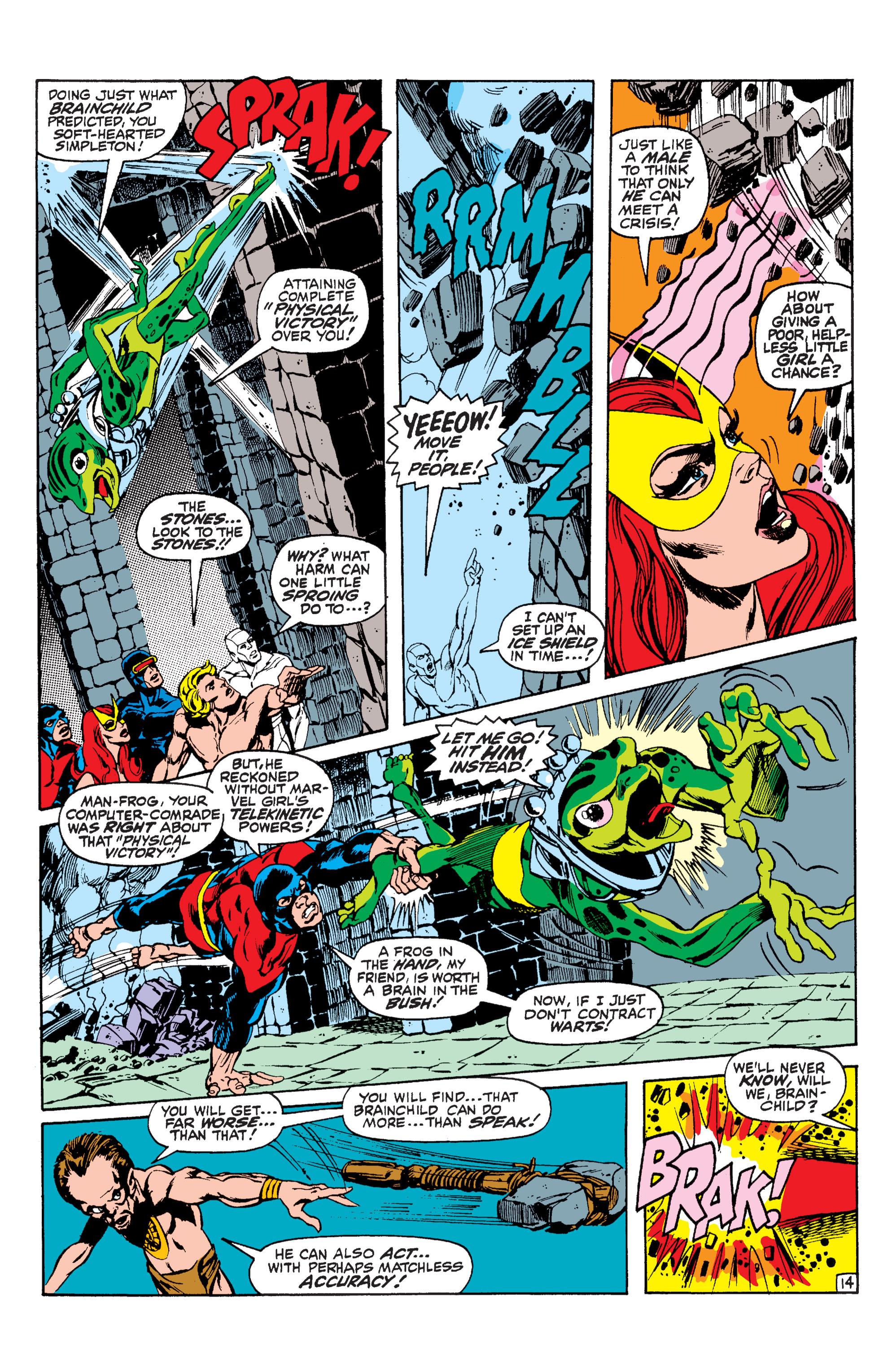 Read online Uncanny X-Men (1963) comic -  Issue #63 - 15