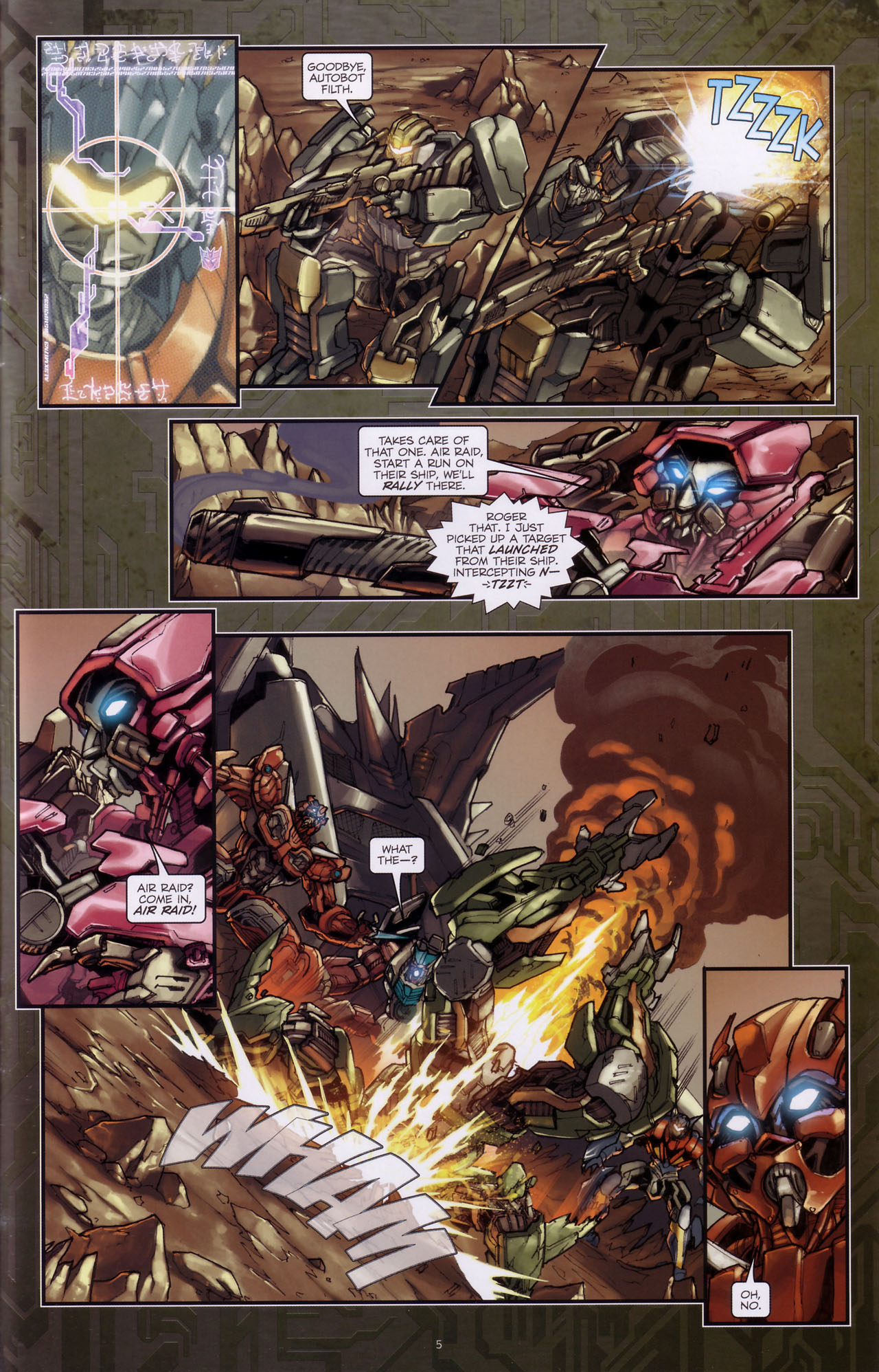 Read online Transformers: The Reign of Starscream comic -  Issue #3 - 7