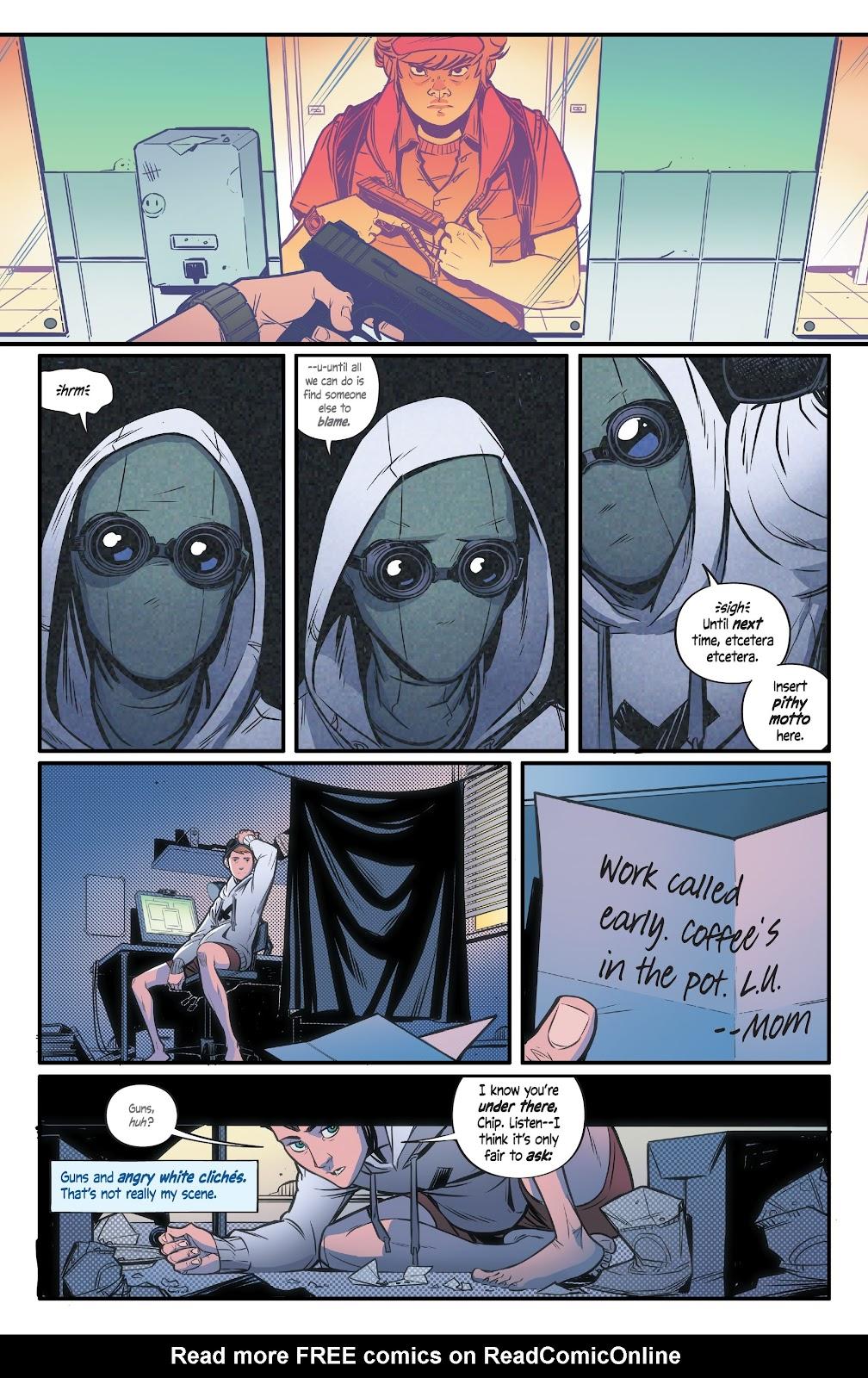Read online Alienated comic -  Issue #2 - 5