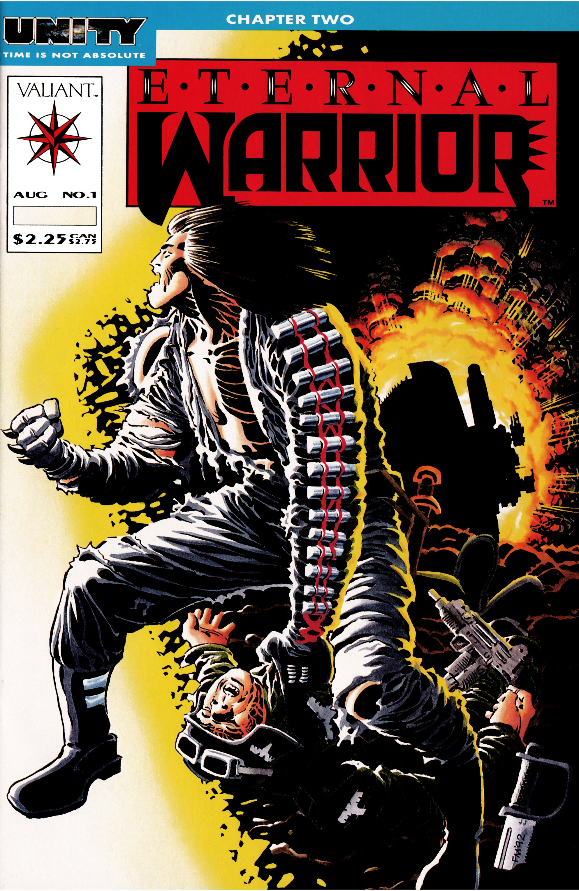 Read online Eternal Warrior (1992) comic -  Issue #1 - 1