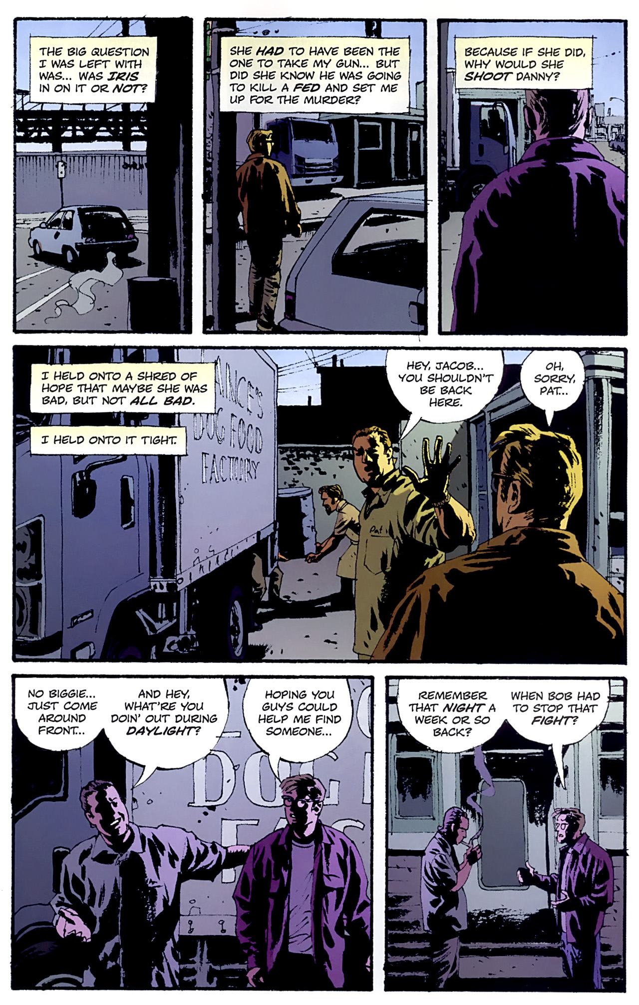 Read online Criminal (2008) comic -  Issue #6 - 19