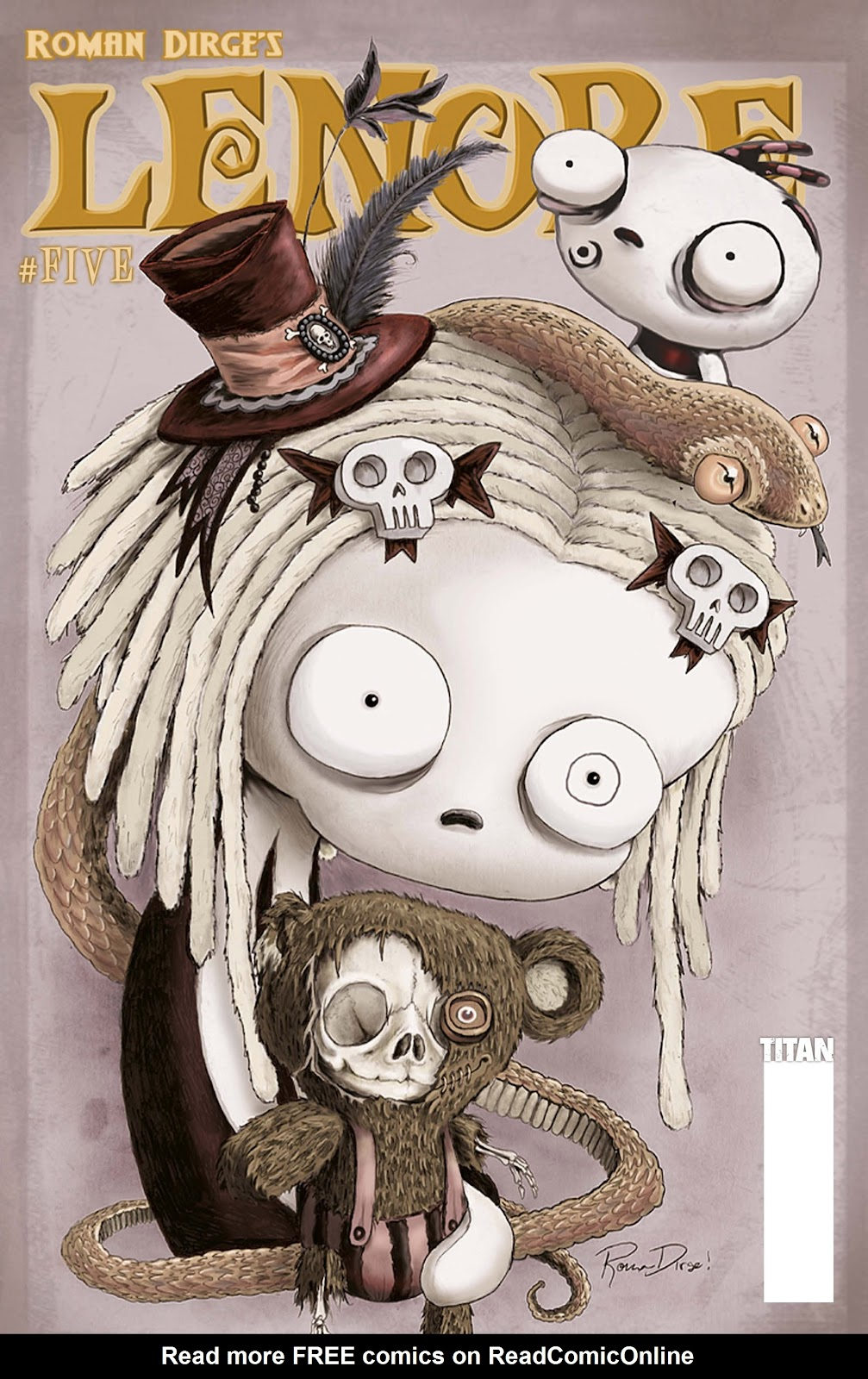 Lenore (2009) issue 5 - Page 1