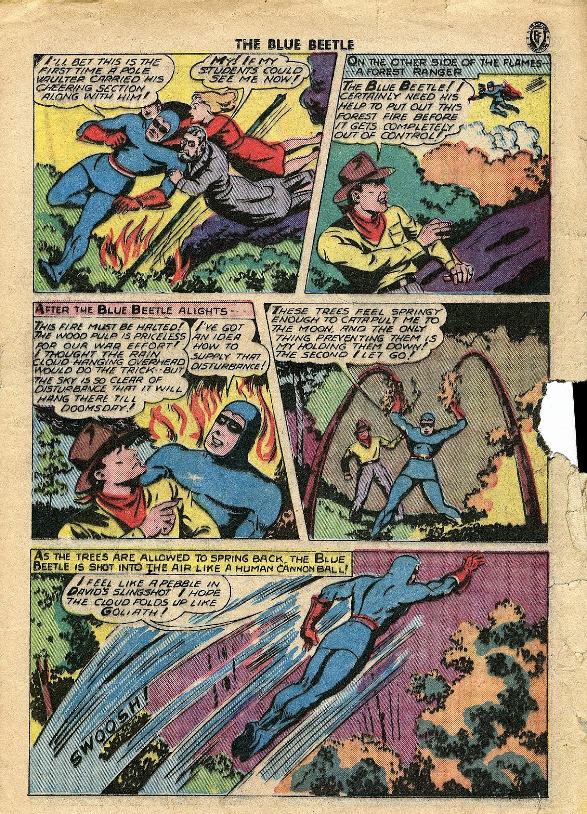 The Blue Beetle issue 34 - Page 22