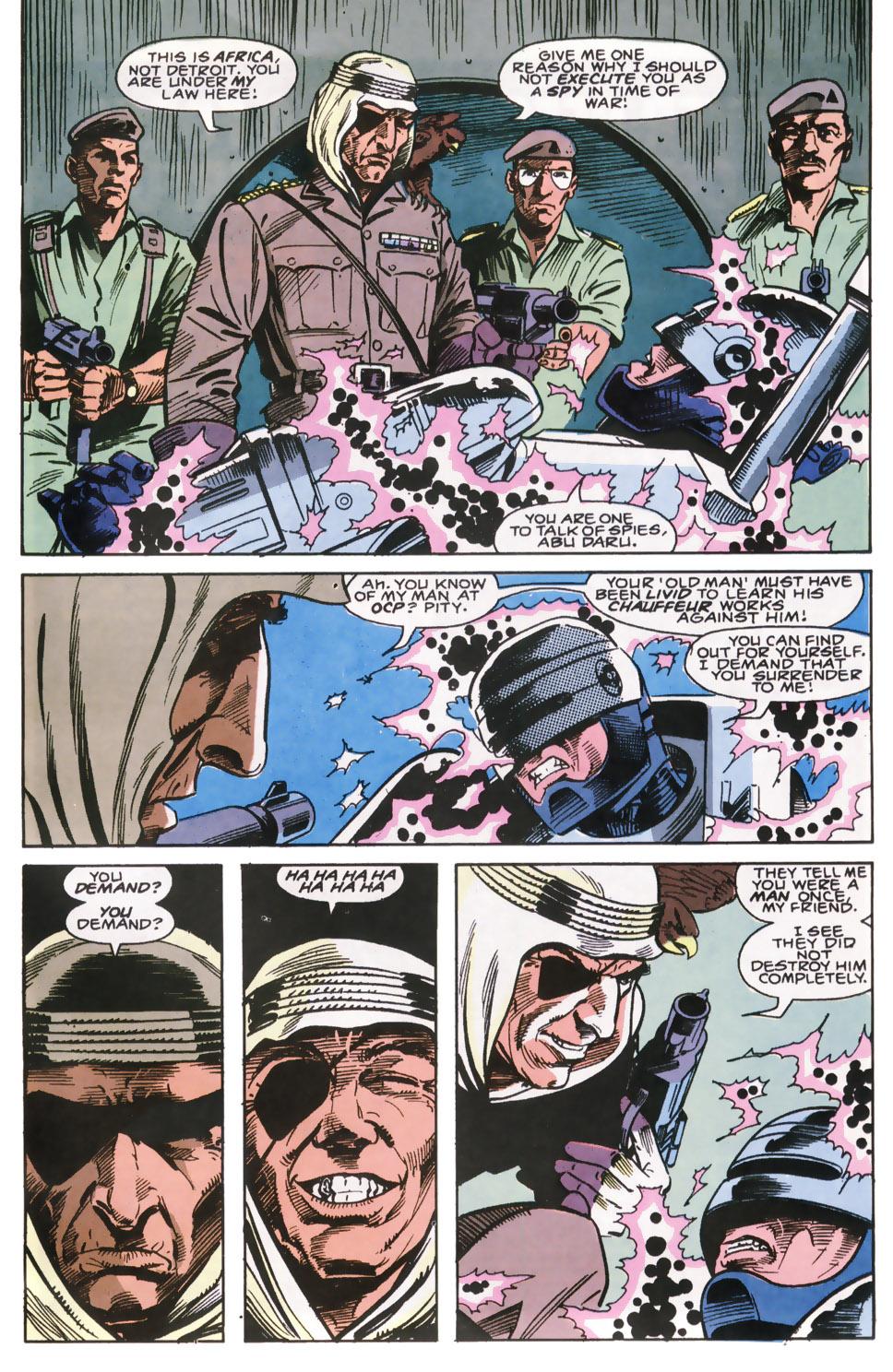 Read online Robocop (1990) comic -  Issue #6 - 4
