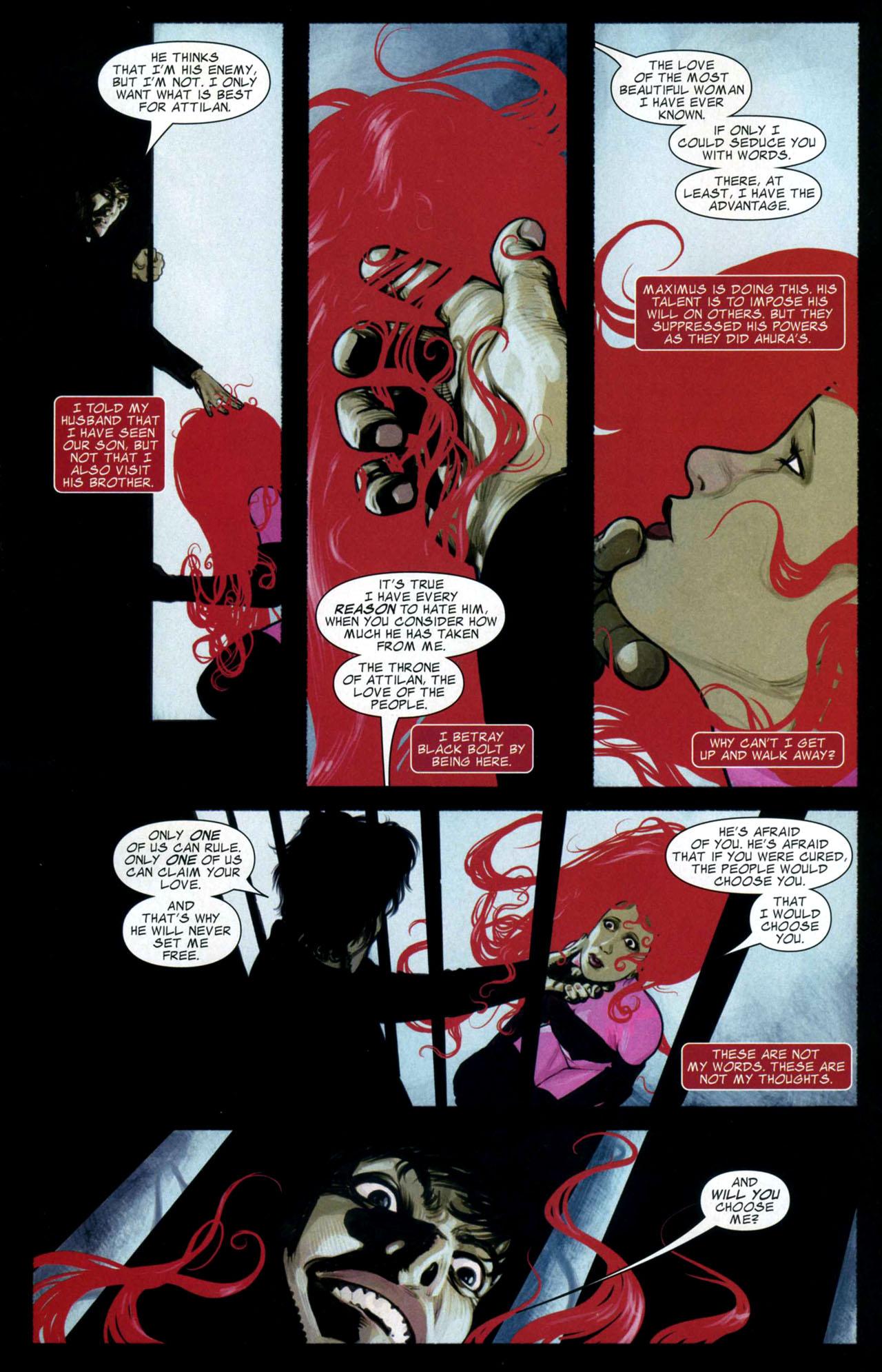 Read online Silent War comic -  Issue #4 - 9
