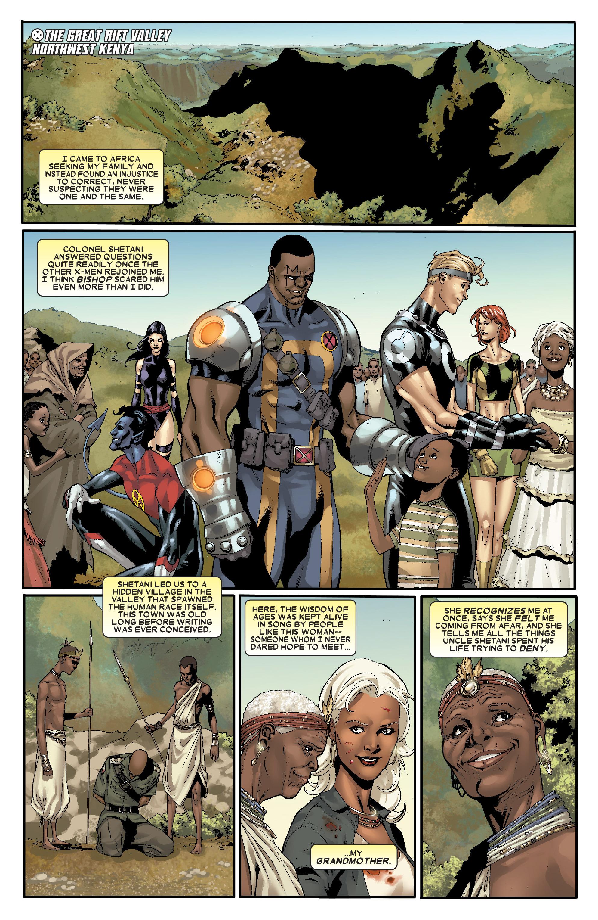 Read online Uncanny X-Men (1963) comic -  Issue # _Annual 1 (2006) - 39