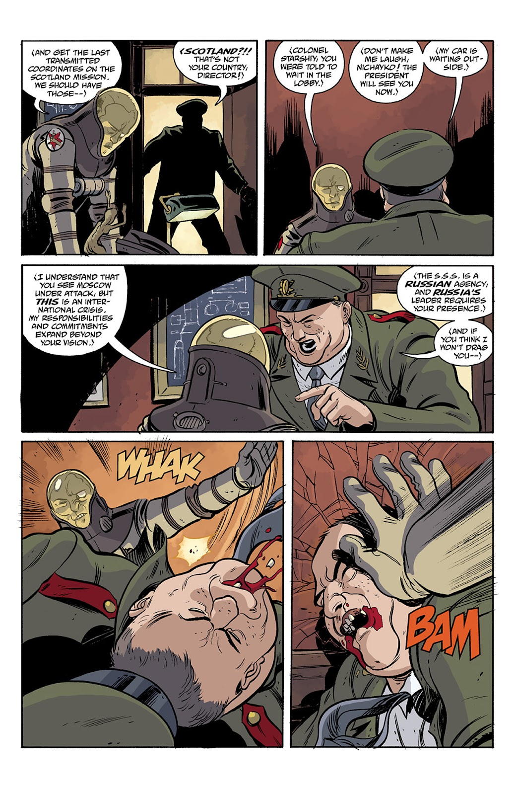 Read online B.P.R.D. Hell on Earth: The Return of the Master comic -  Issue #5 - 20