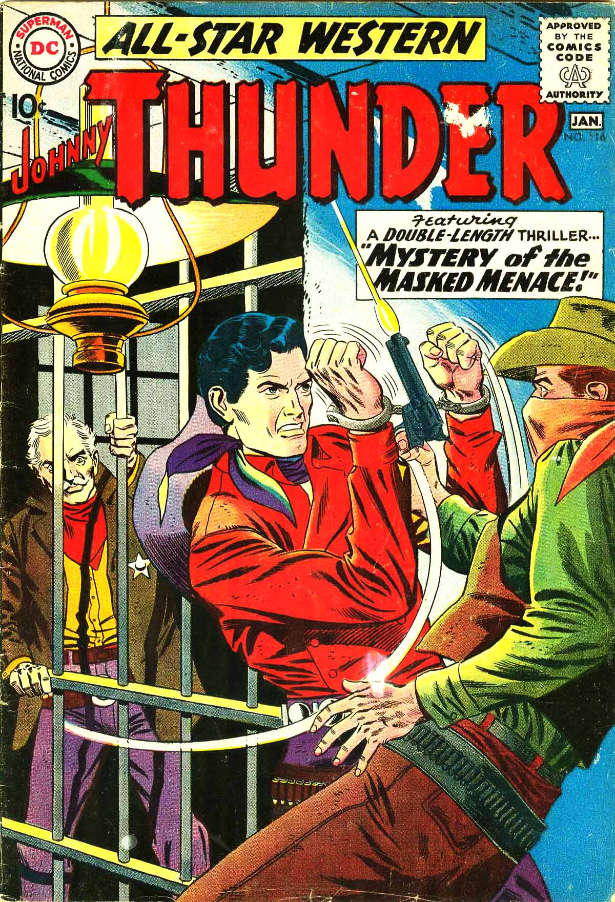 Read online All-Star Western (1951) comic -  Issue #116 - 1