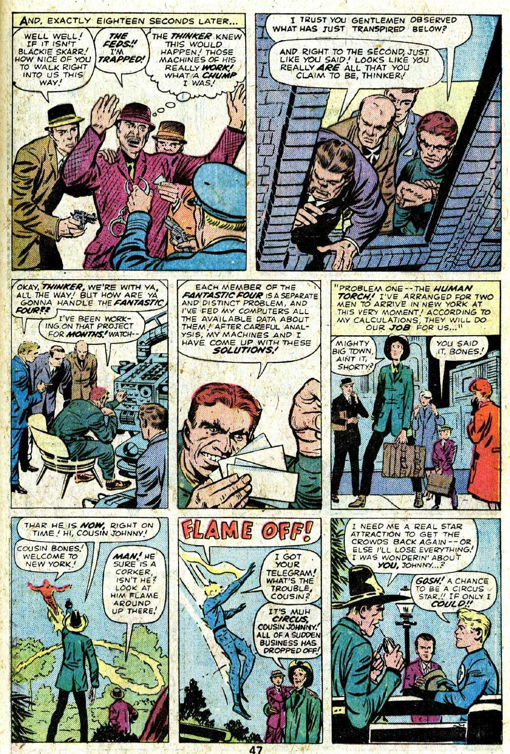 Giant-Size Fantastic Four issue 5 - Page 49