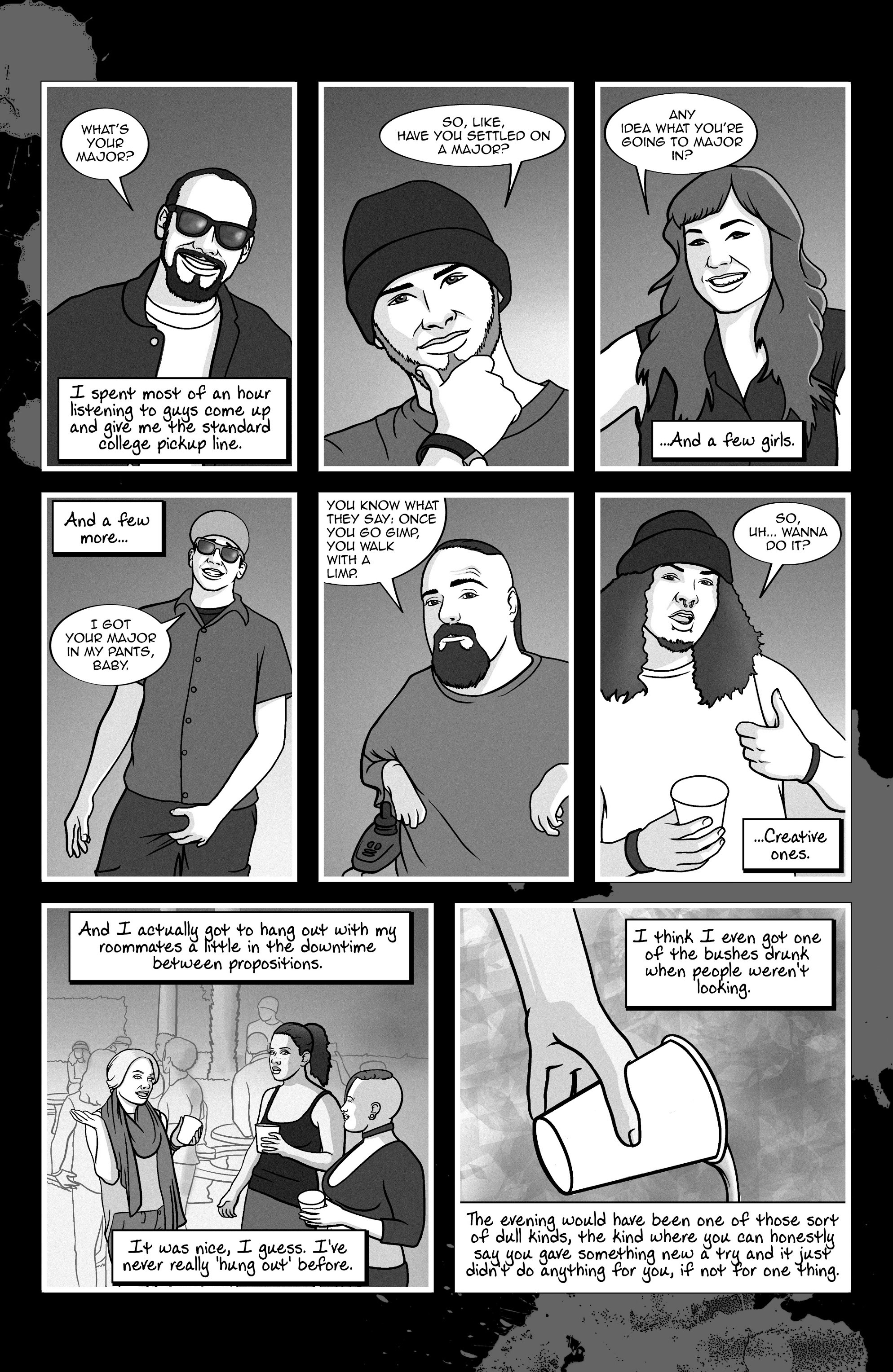 Read online A Voice in the Dark comic -  Issue #4 - 19