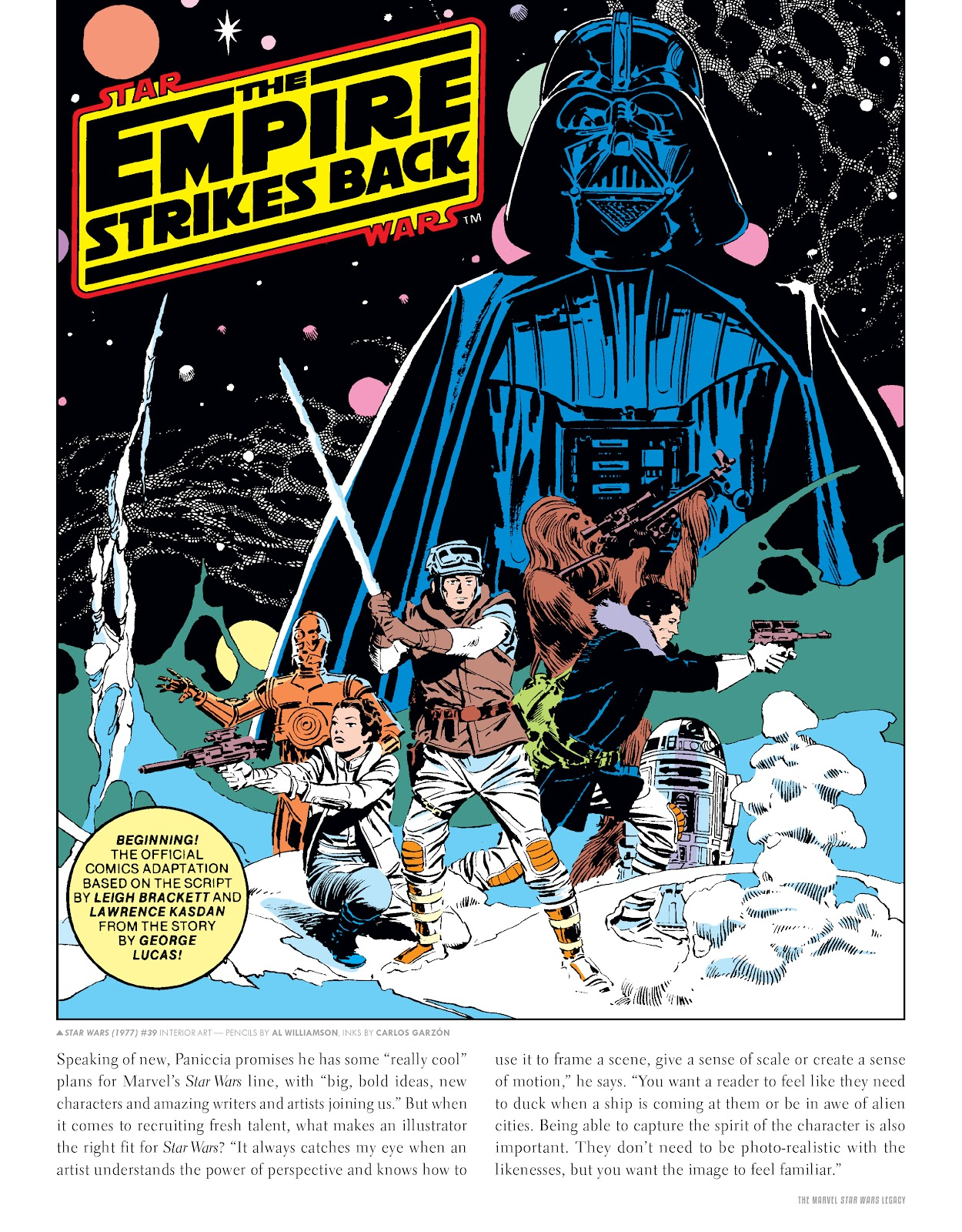 Read online The Marvel Art of Star Wars comic -  Issue # TPB (Part 1) - 8
