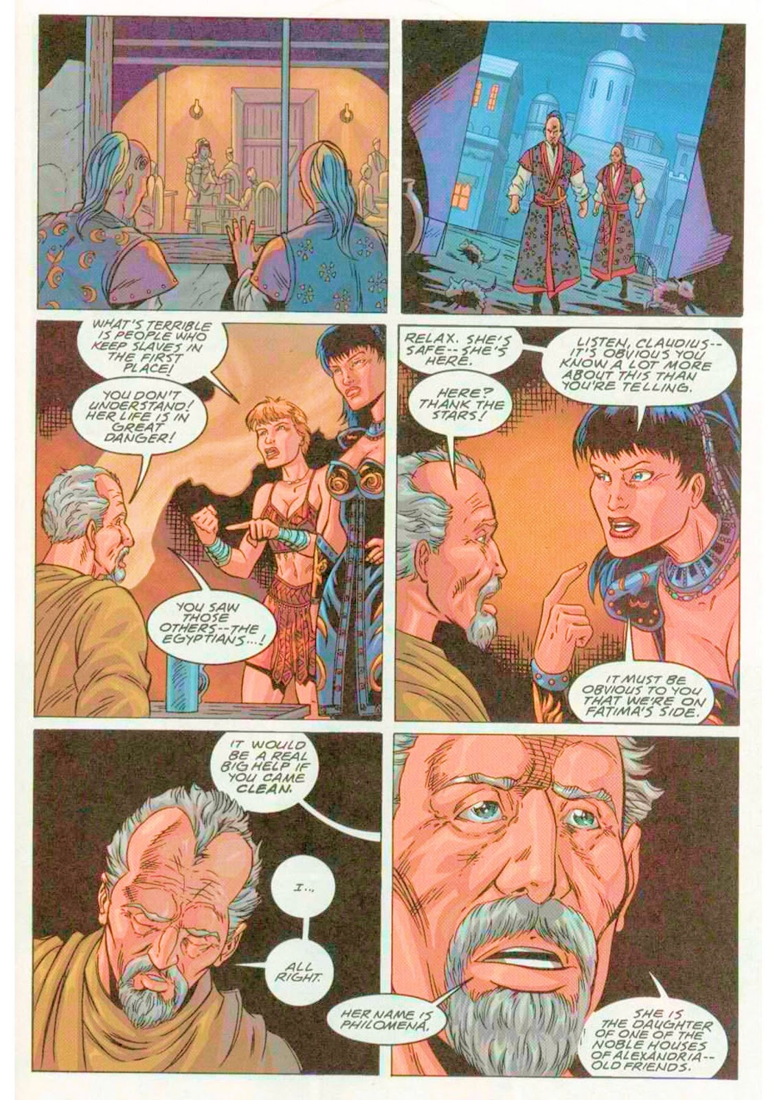 Xena: Warrior Princess (1999) Issue #4 #4 - English 23
