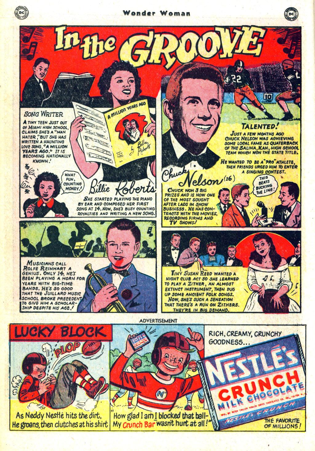 Read online Wonder Woman (1942) comic -  Issue #45 - 22